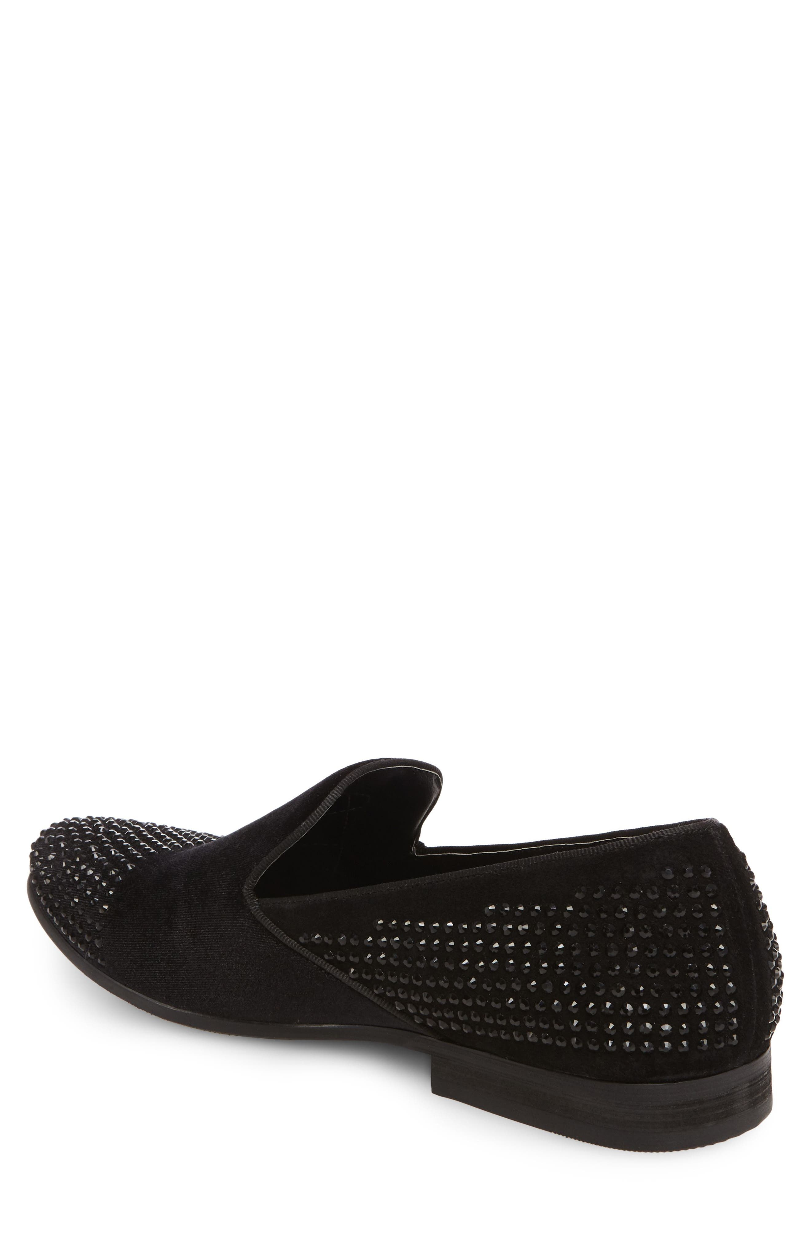Clarity Loafer,                             Alternate thumbnail 2, color,                             Black Fabric