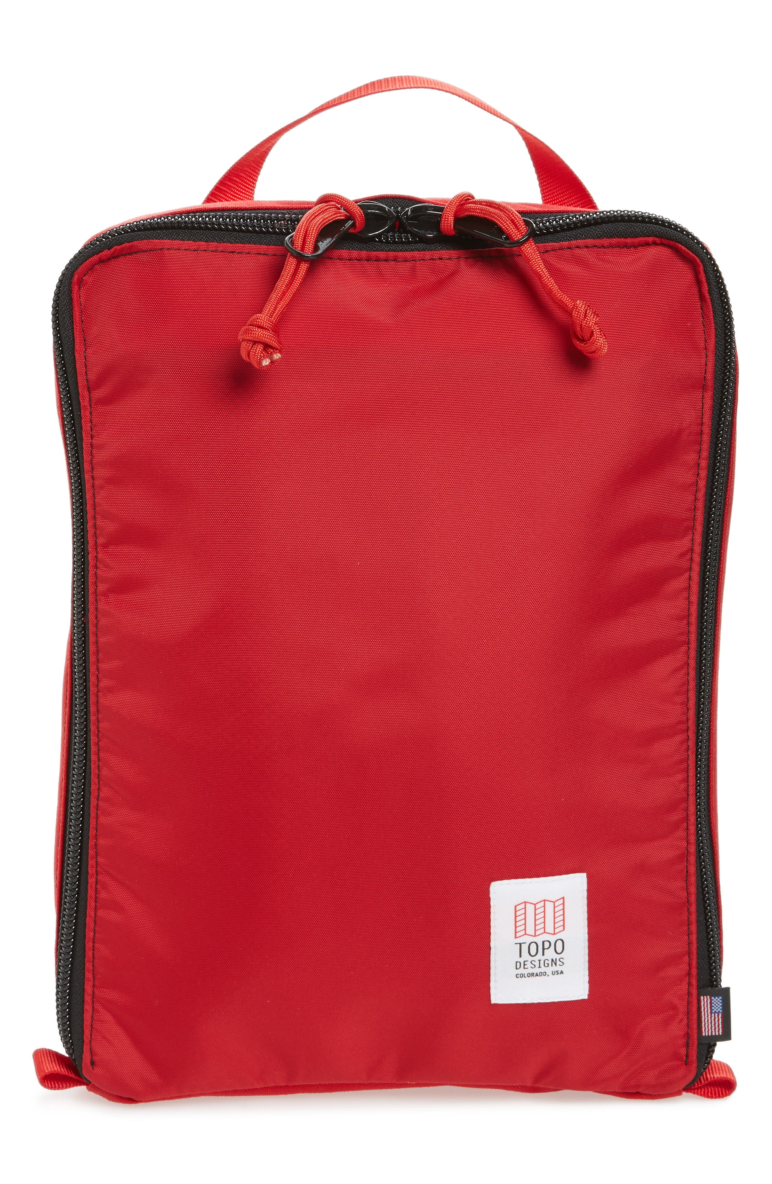 TOPO DESIGNS PACK BAGS TOTE - RED