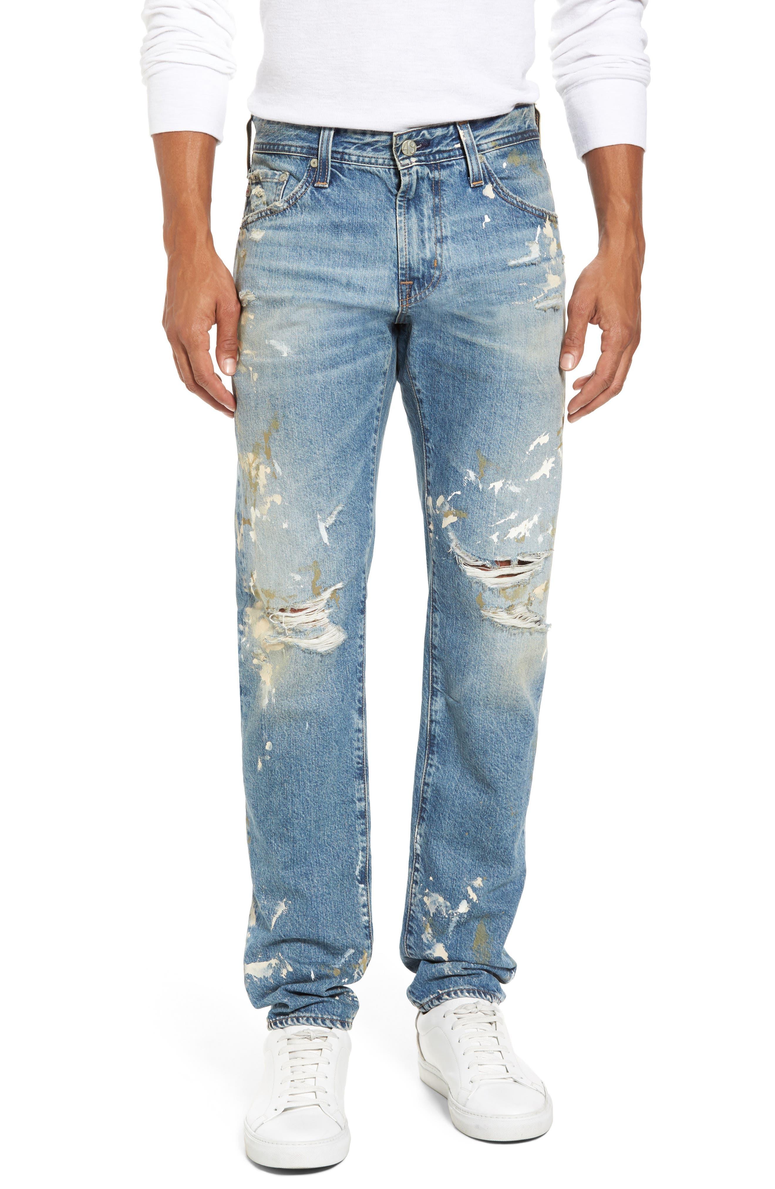 Main Image - AG Tellis Modern Slim Fit Jeans (18 Years Carpenter)