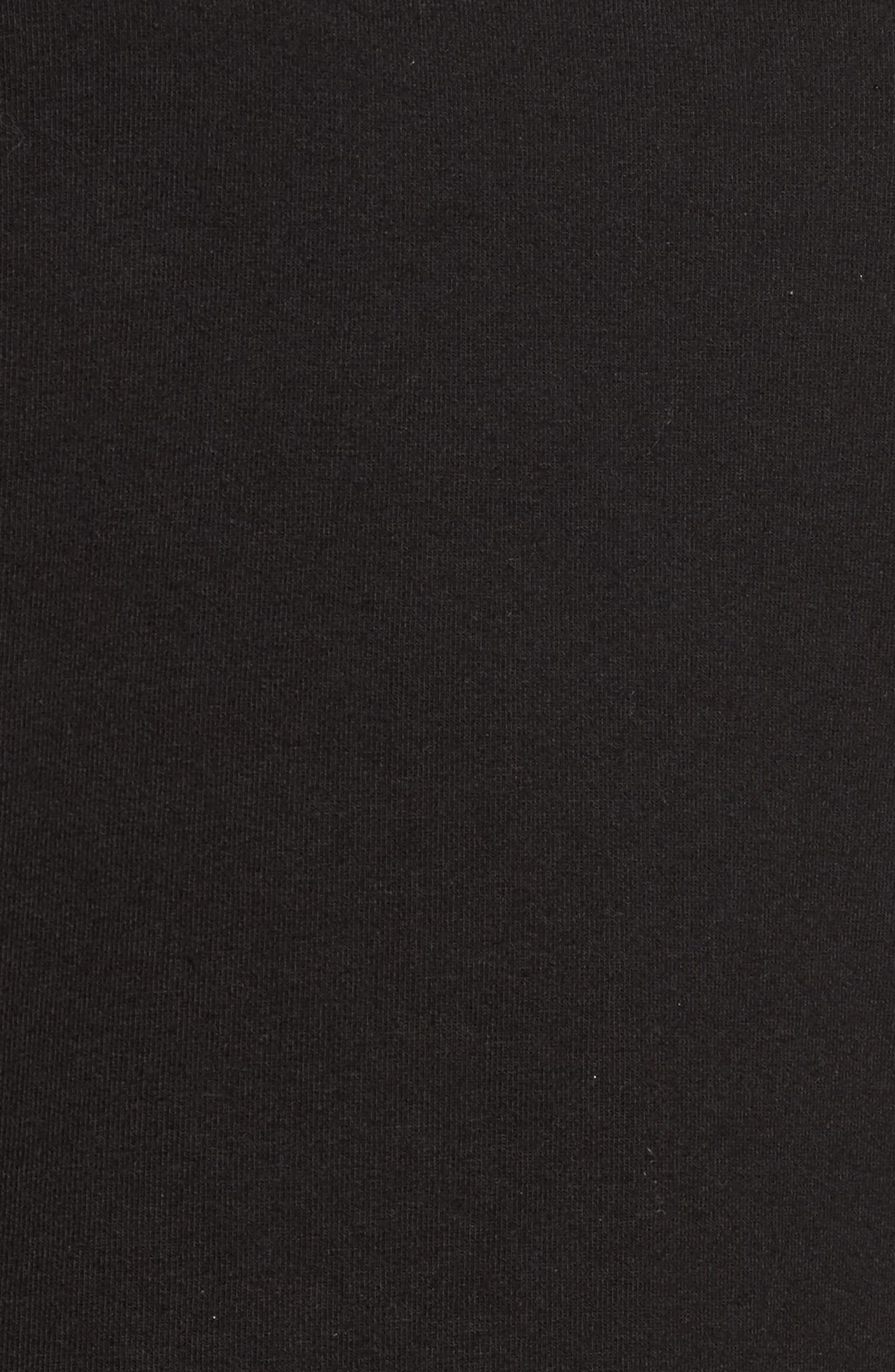 Alternate Image 5  - Halogen® Ruffle Sleeve Sweatshirt (Regular & Petite)