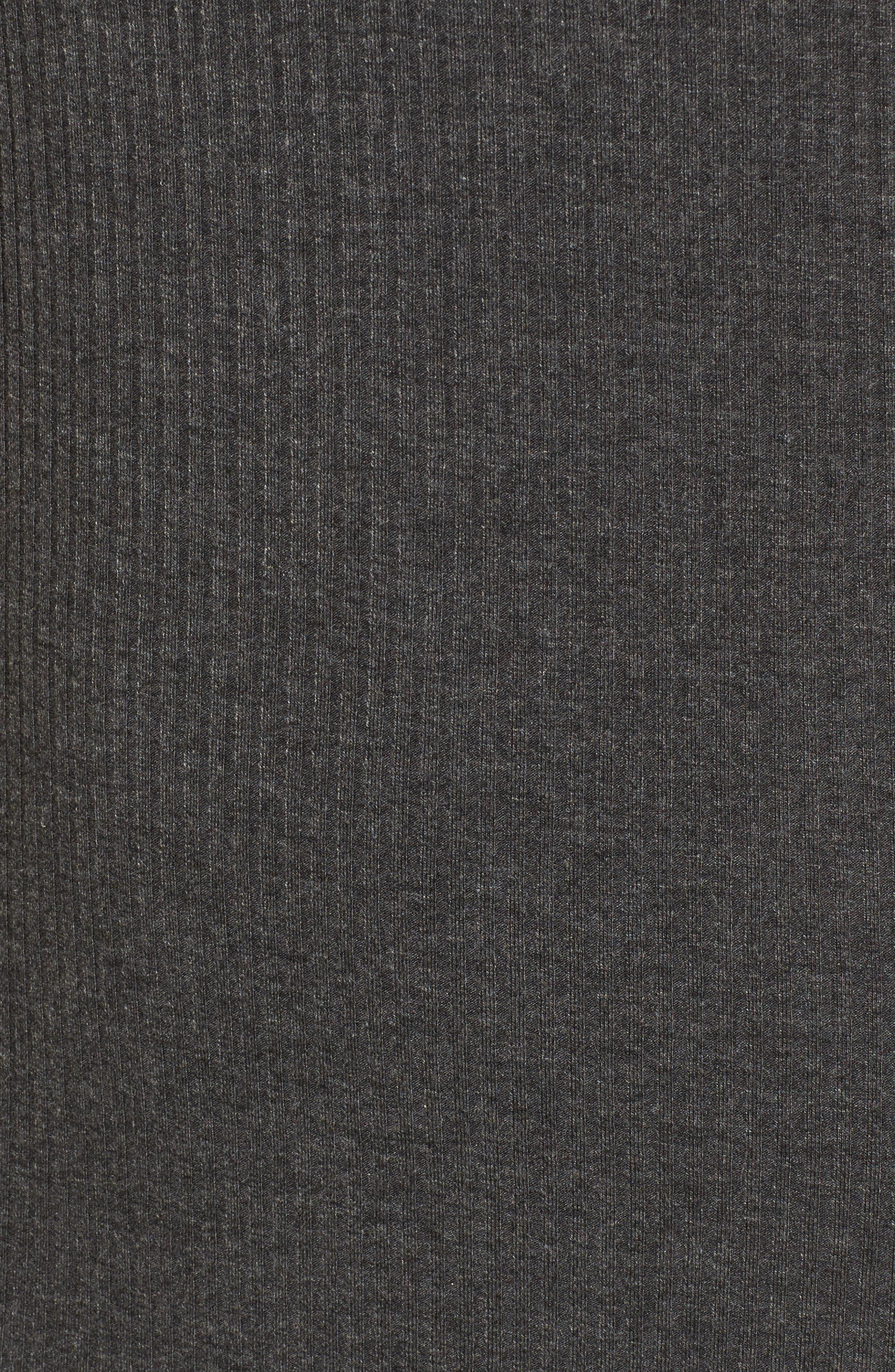Alternate Image 5  - Love, Fire Gigi Rib Knit Dress