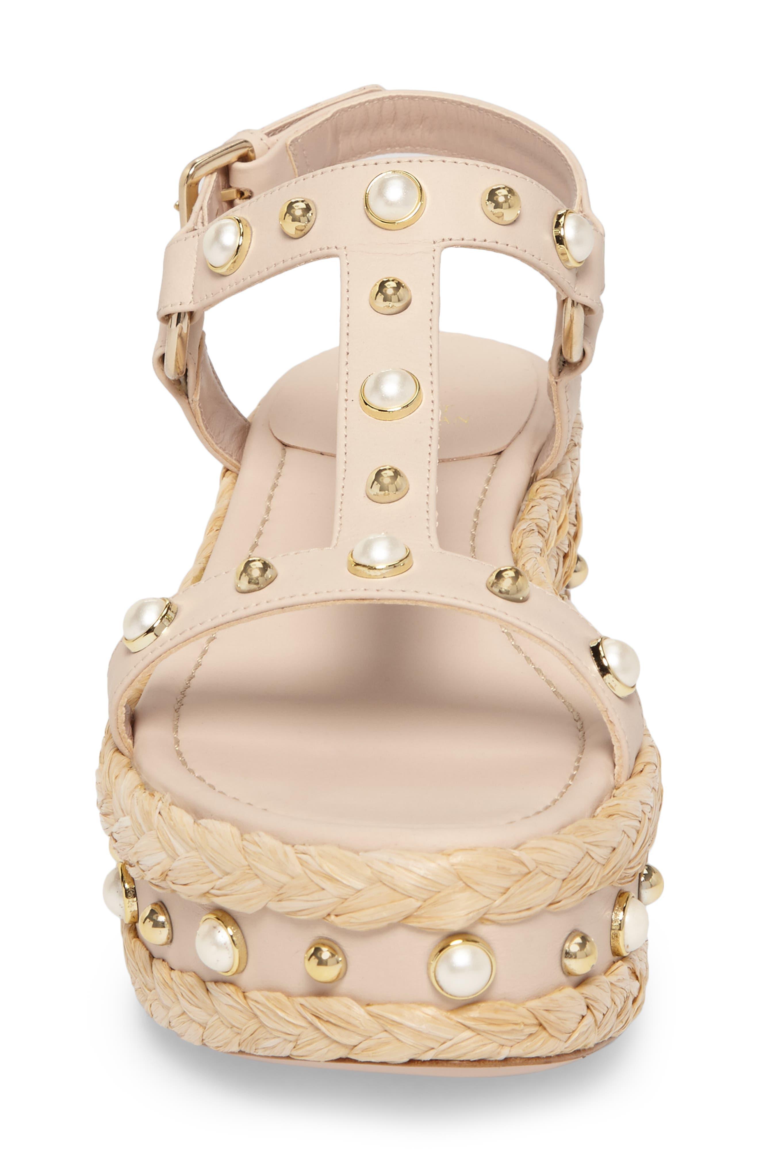 Alternate Image 4  - Stuart Weitzman Beraffia Platform Sandal (Women)