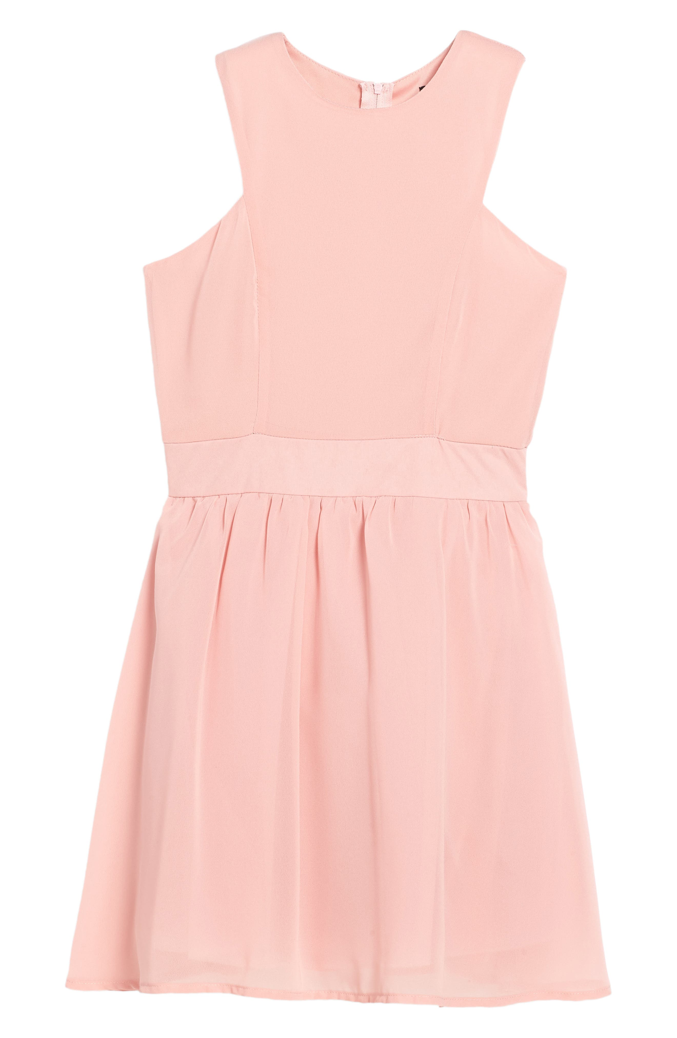 Alternate Image 1 Selected - Penelope Tree Camilla Sleeveless Dress (Big Girls)