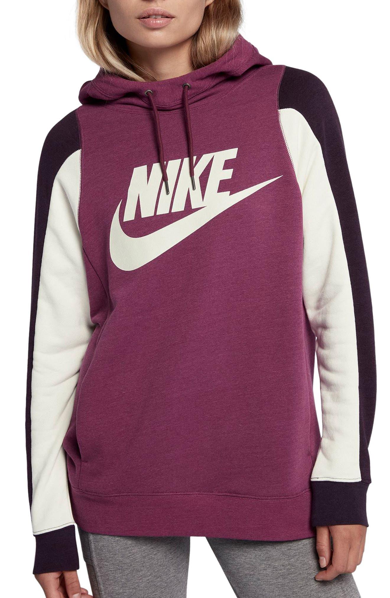 Alternate Image 1 Selected - Nike Women's Modern Pullover Hoodie