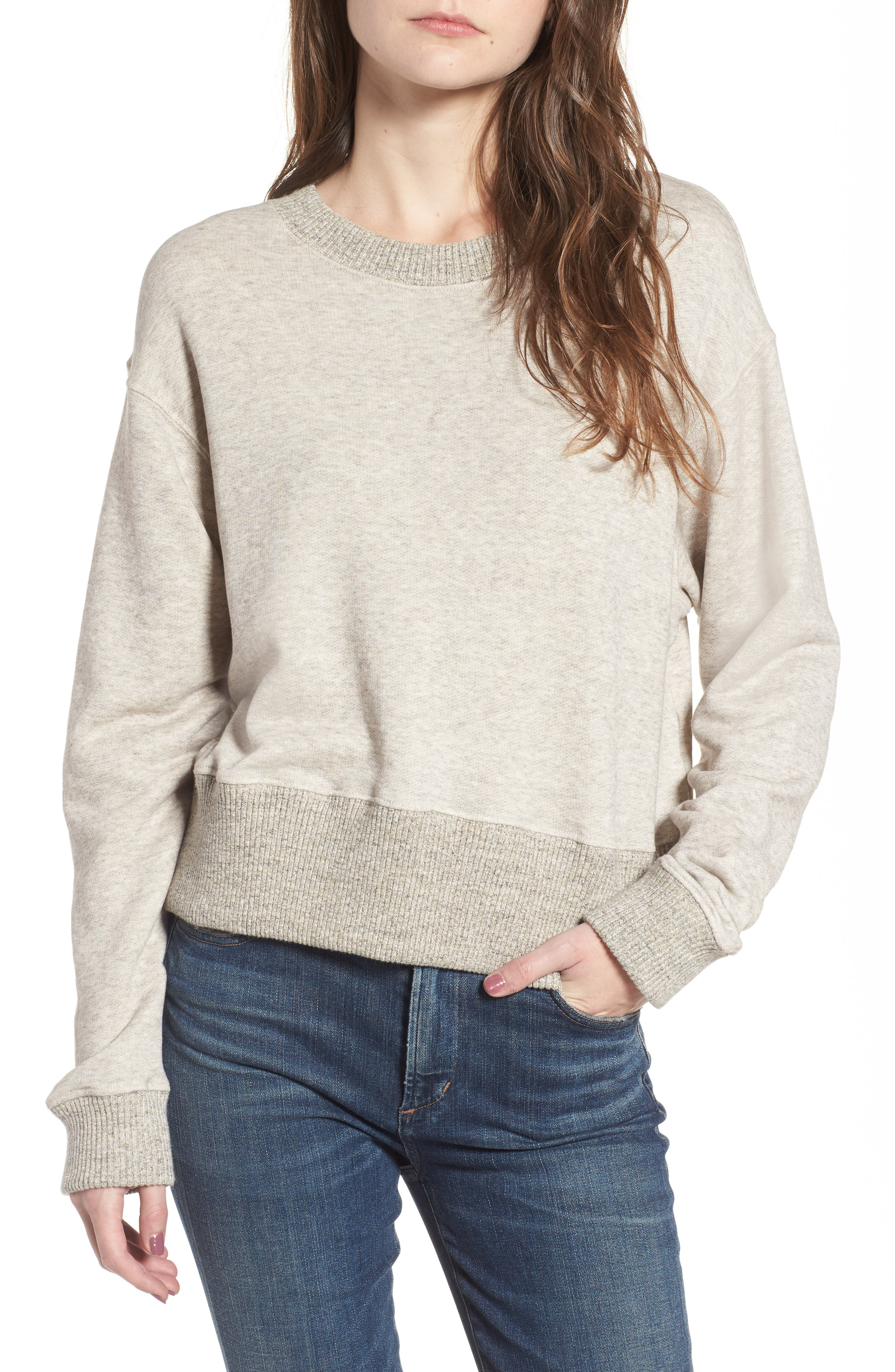 James Perse Plush Terry Sweatshirt