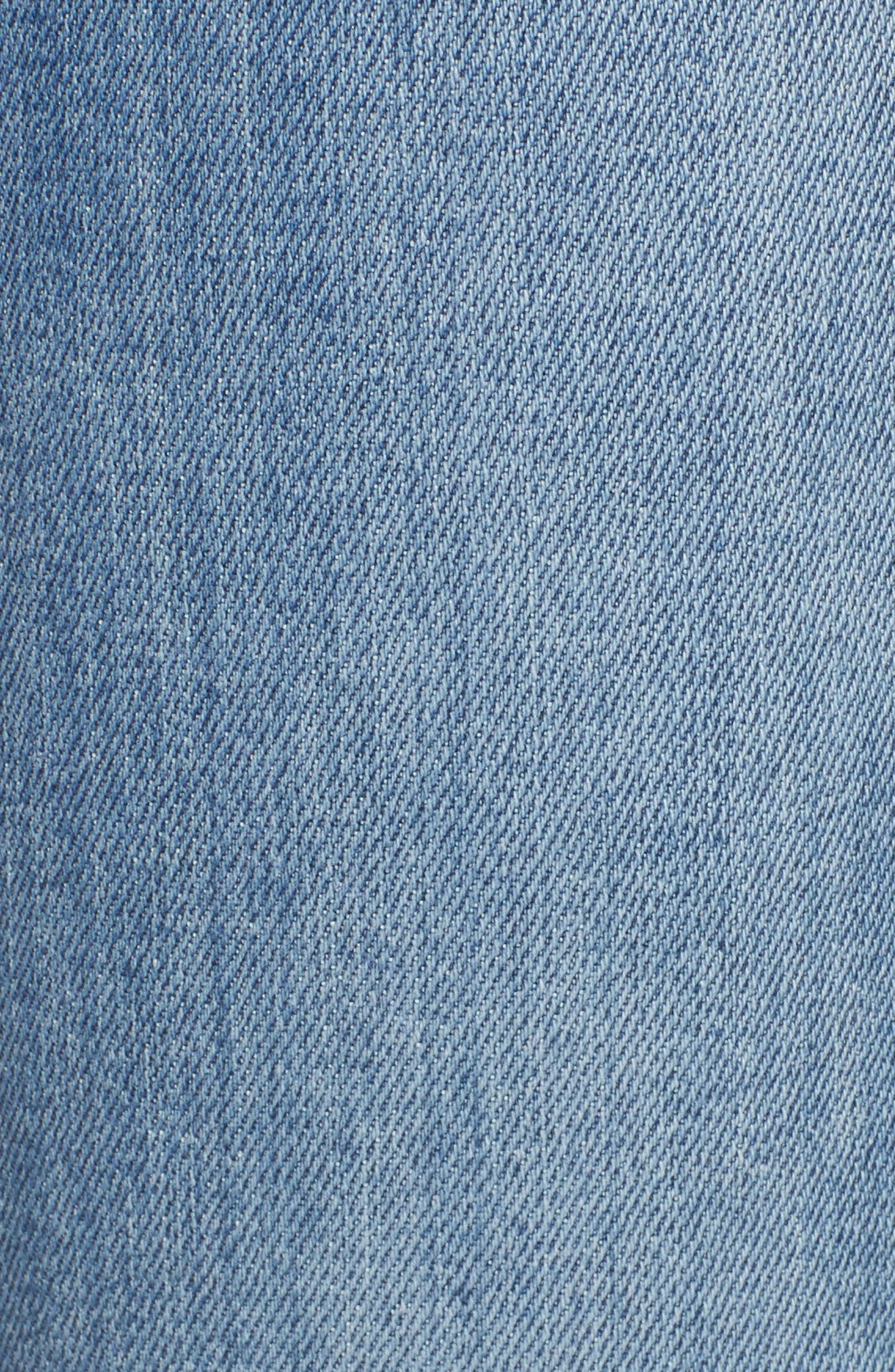 Alternate Image 5  - 7 For All Mankind® Roxanne Ankle Jeans (Bright Houston)