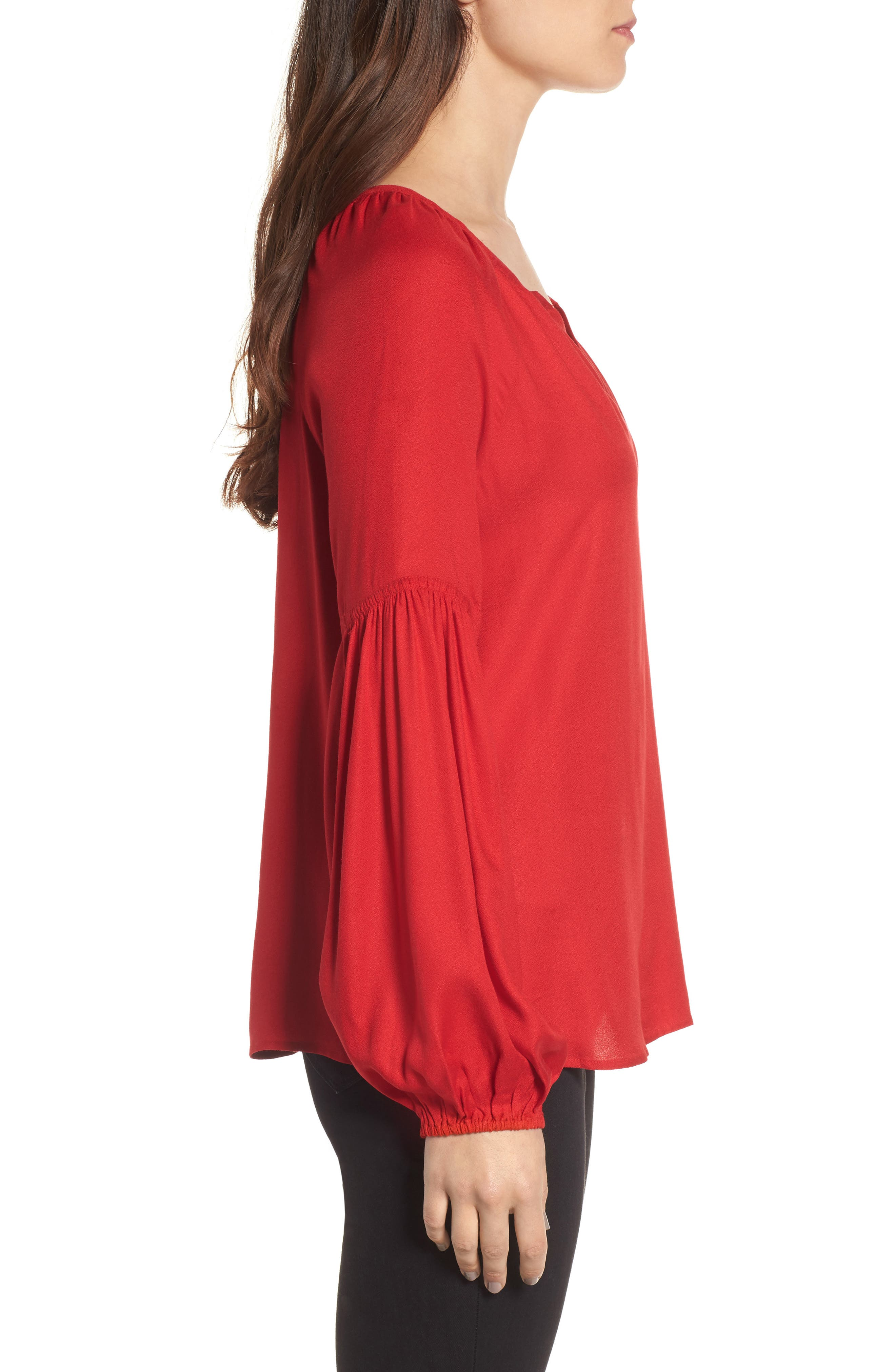 Alternate Image 3  - Hinge Blouson Sleeve Top