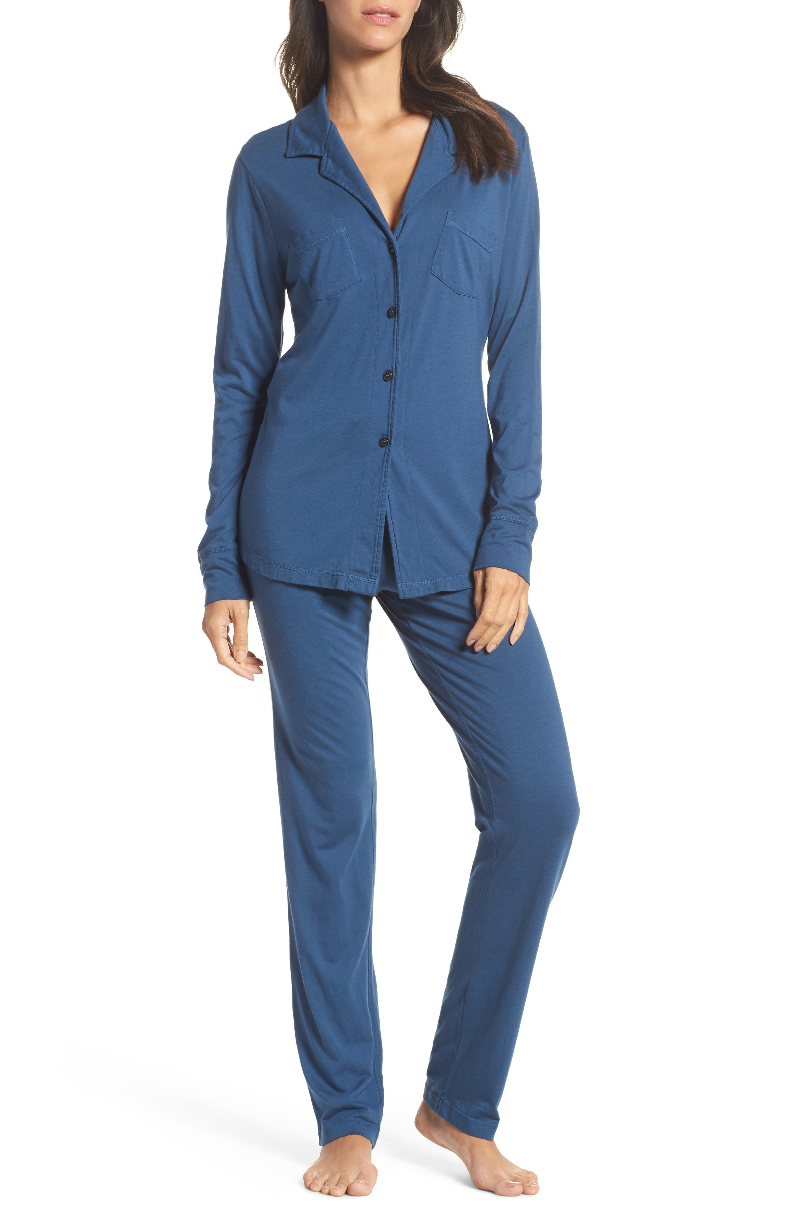 Main Image - LOVE+GRACE 'Cassie' Cotton & Modal Pajamas