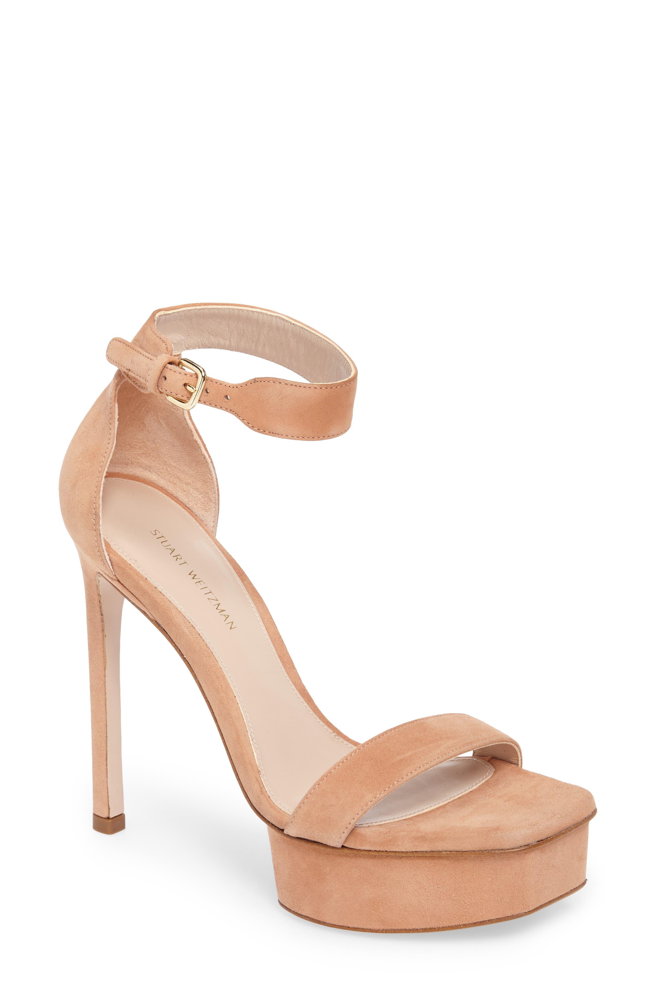 Stuart Weitzman Backupplat Platform Sandal (Women)