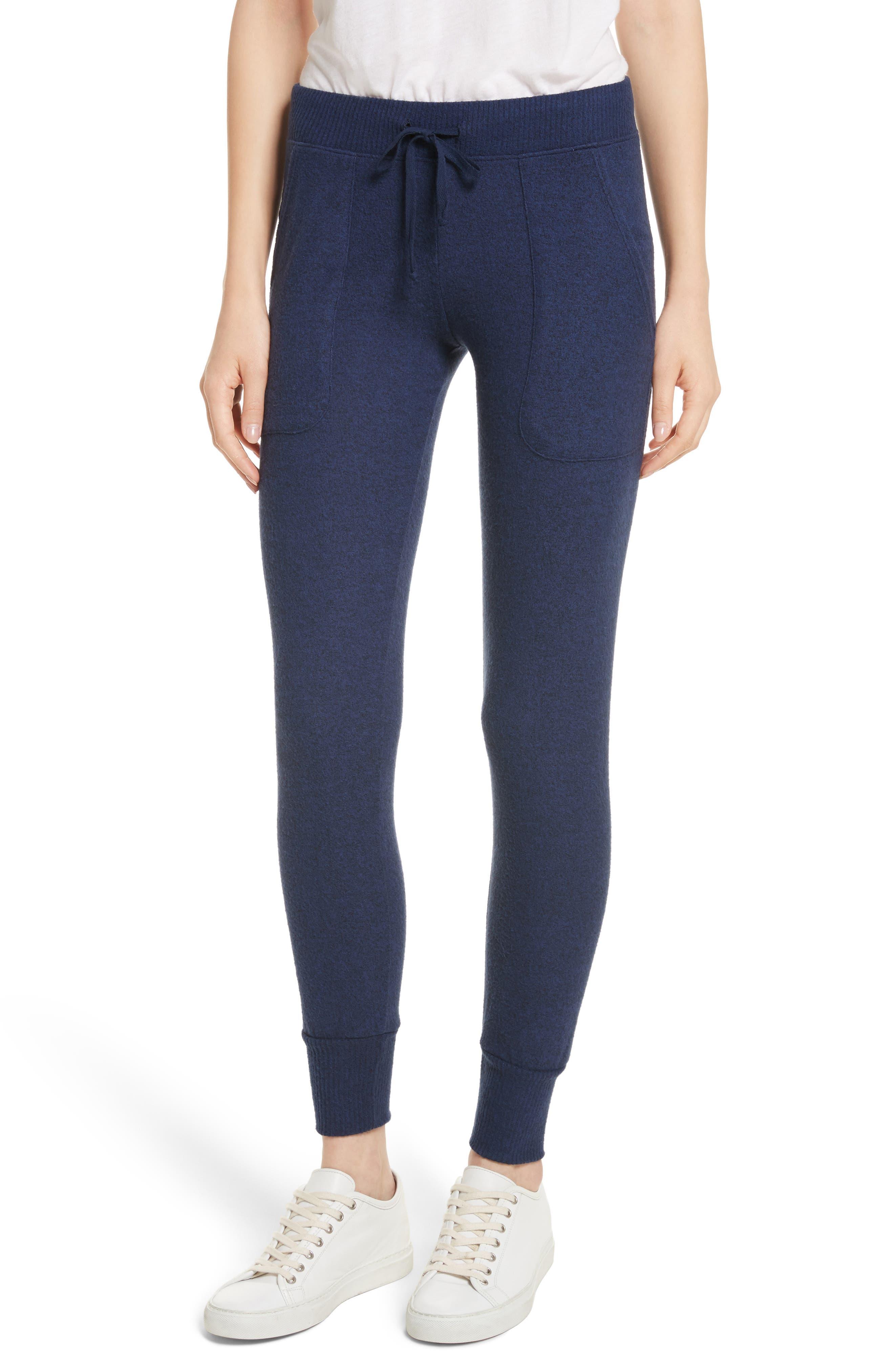 Tendra Jogger Pants,                         Main,                         color, Peacoat
