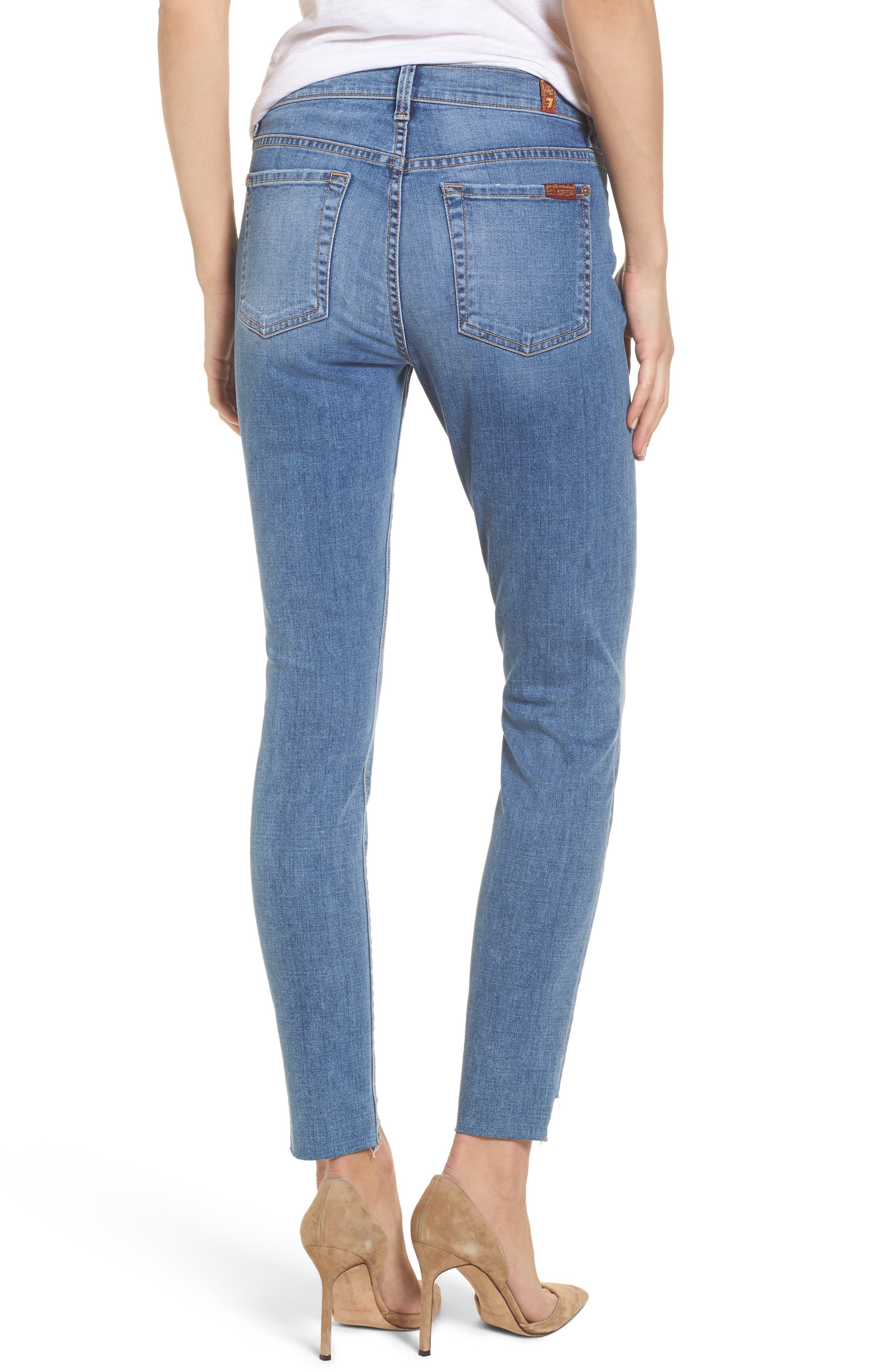 Step Hem Ankle Skinny Jeans,                             Alternate thumbnail 2, color,                             Fillmore