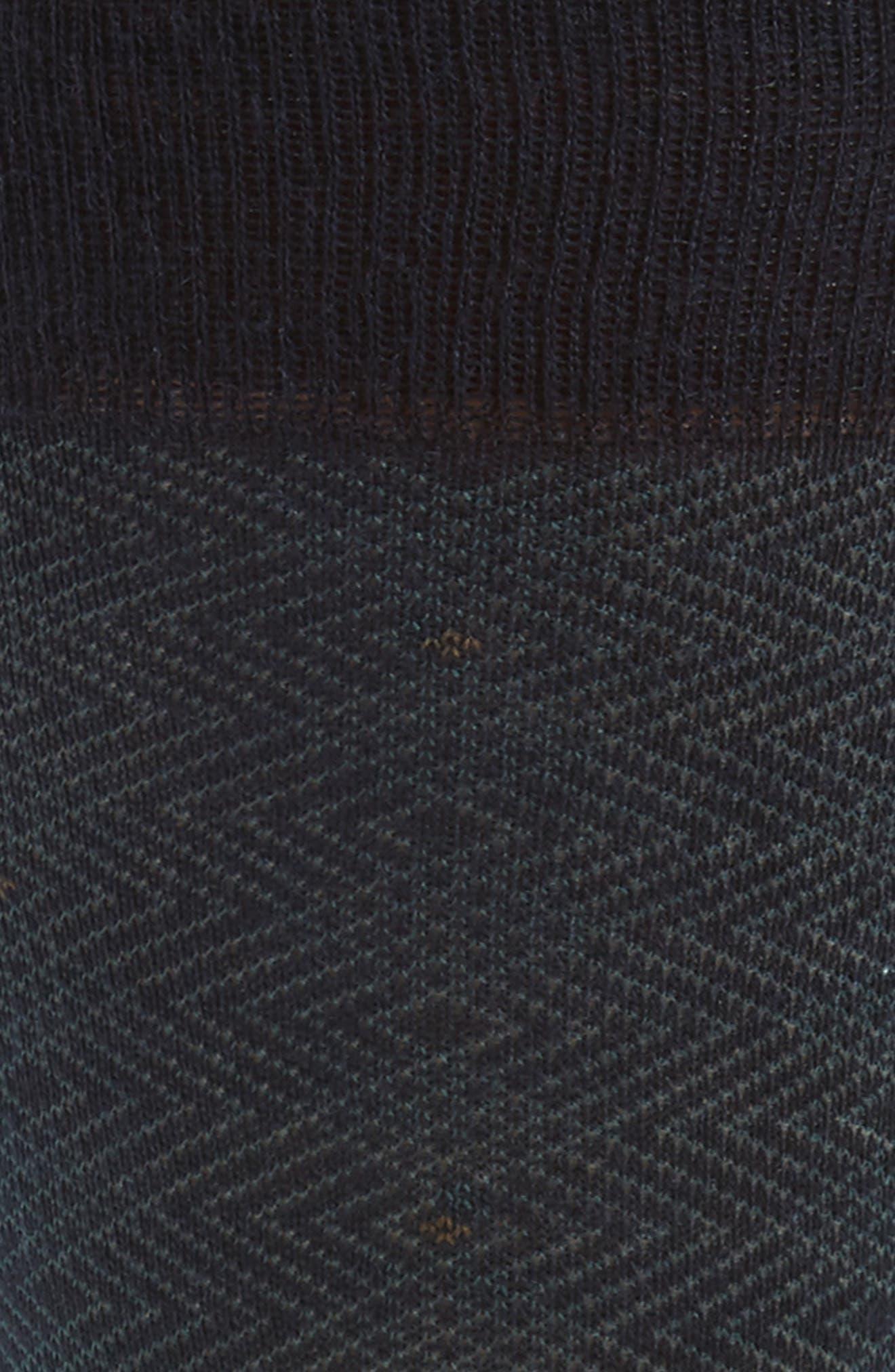 Merino Wool Blend Socks,                             Alternate thumbnail 2, color,                             Navy