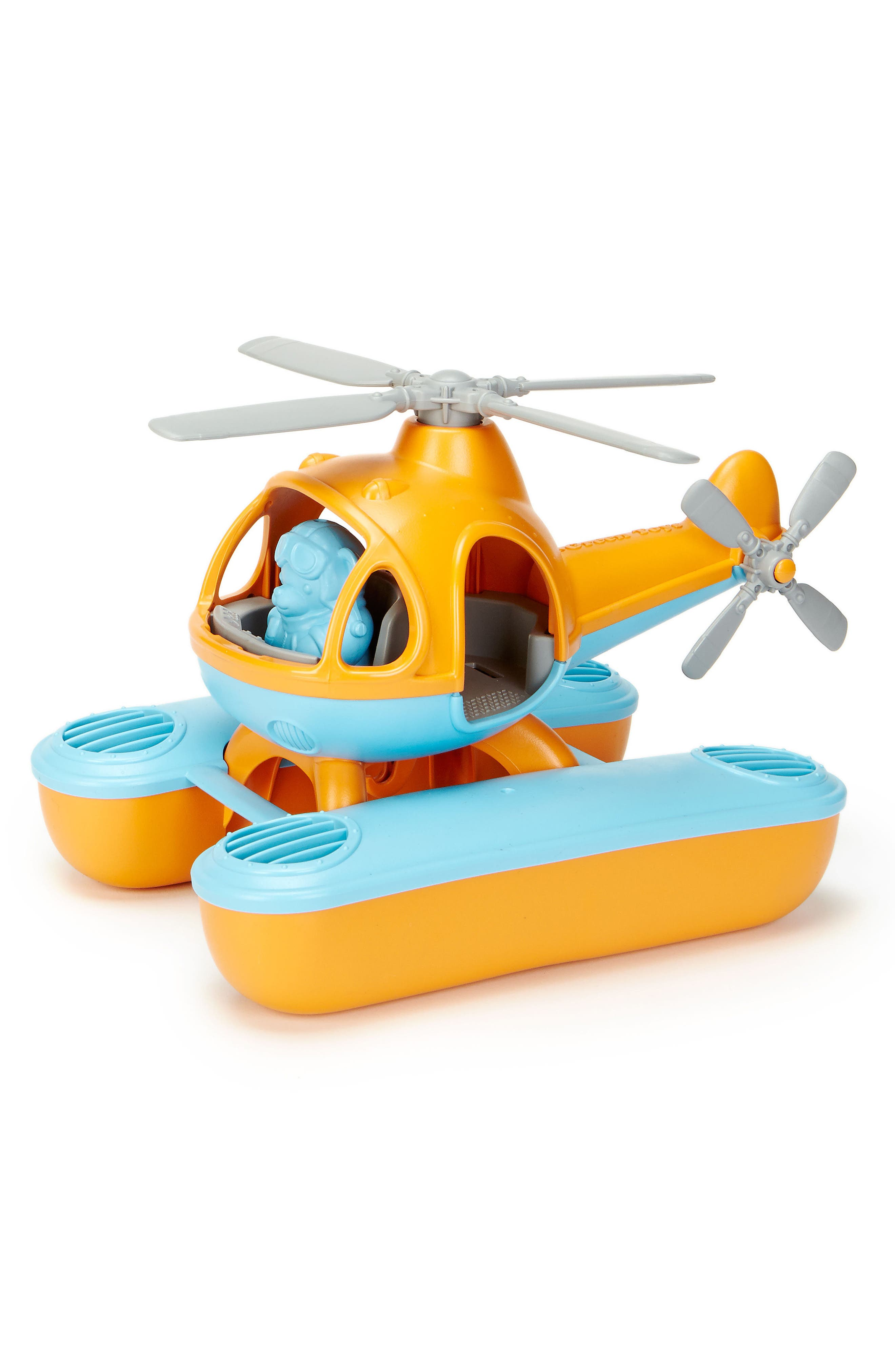 Two-Piece Seacopter Toy,                             Alternate thumbnail 3, color,                             Orange