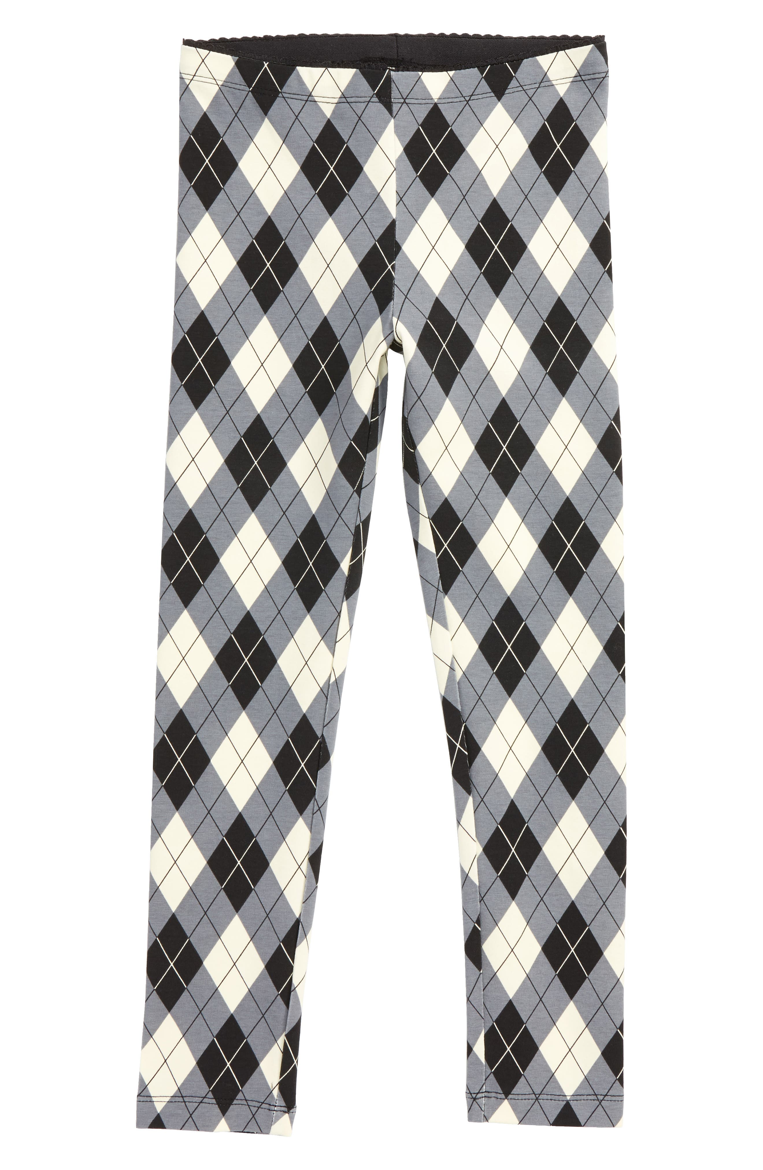 Alternate Image 1 Selected - Tea Collection Argyle Plaid Leggings (Toddler Girls, Little Girls & Big Girls)