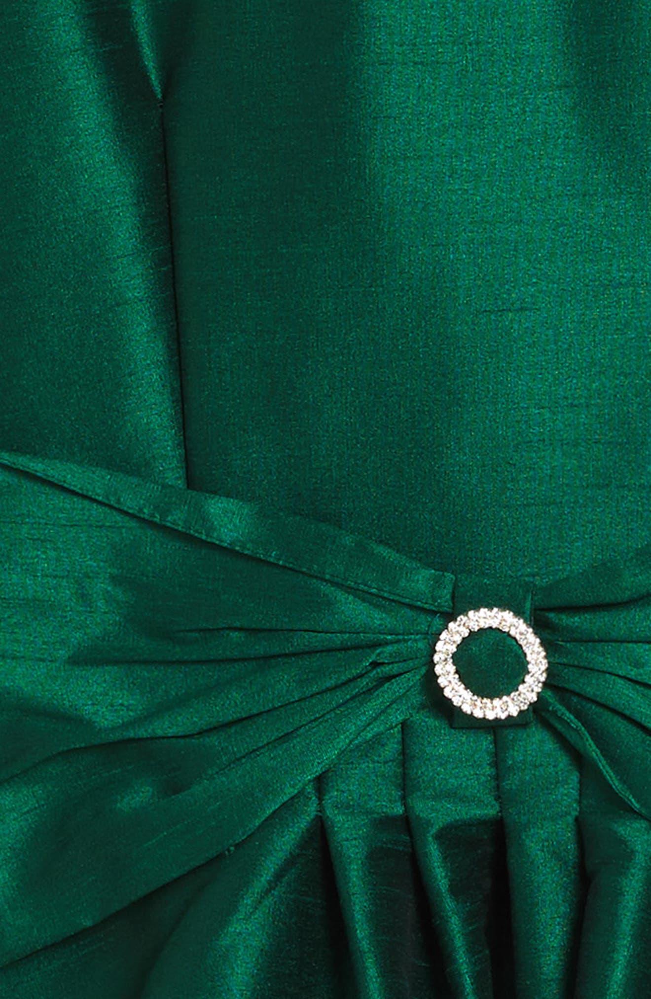 Alternate Image 3  - Fiveloaves Twofish Holiday Beauty Sleeveless Dress (Big Girls)