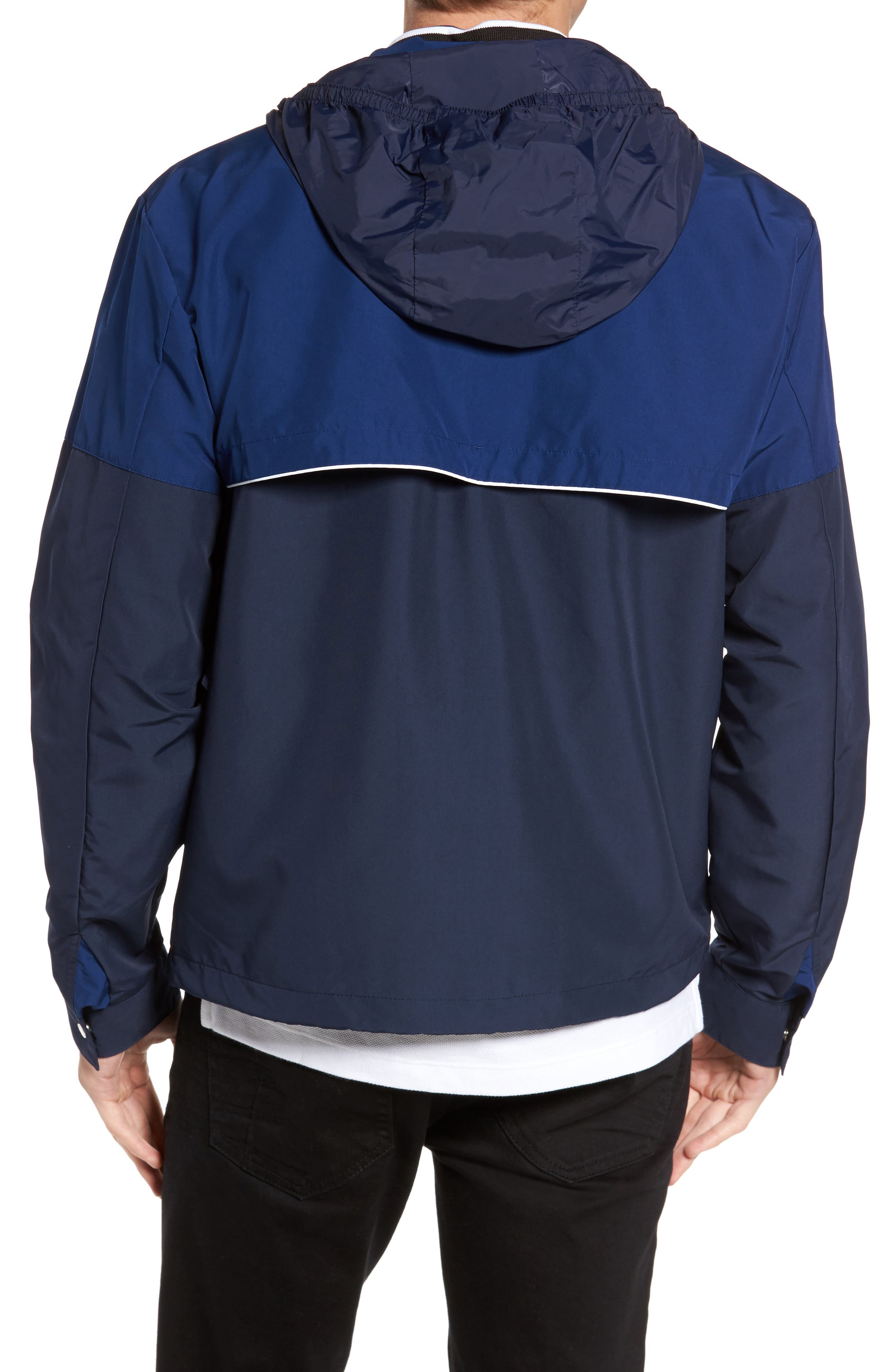 Alternate Image 2  - Lacoste Water Resistant Hooded Parka