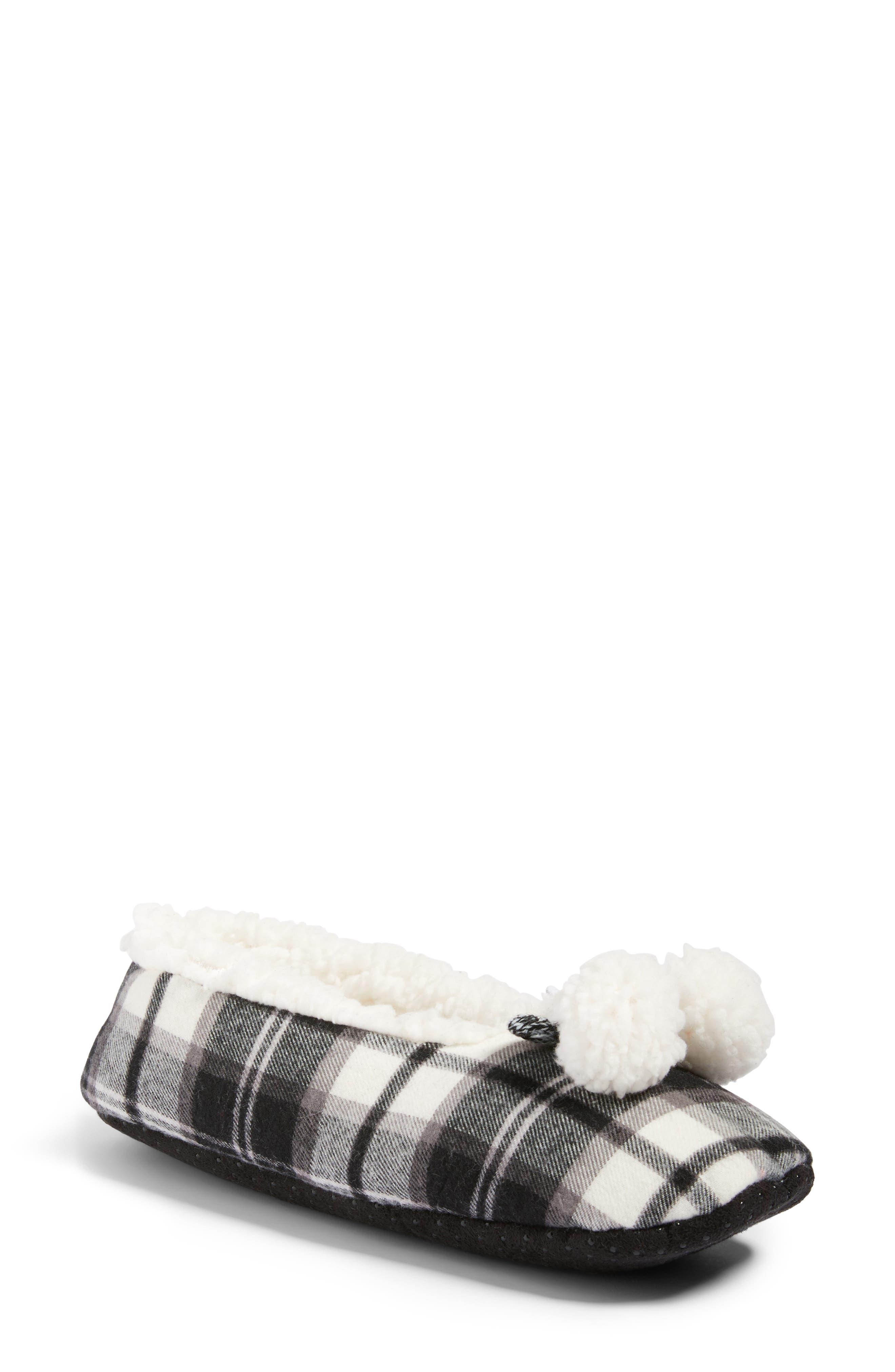 Make + Model Plaid Slippers