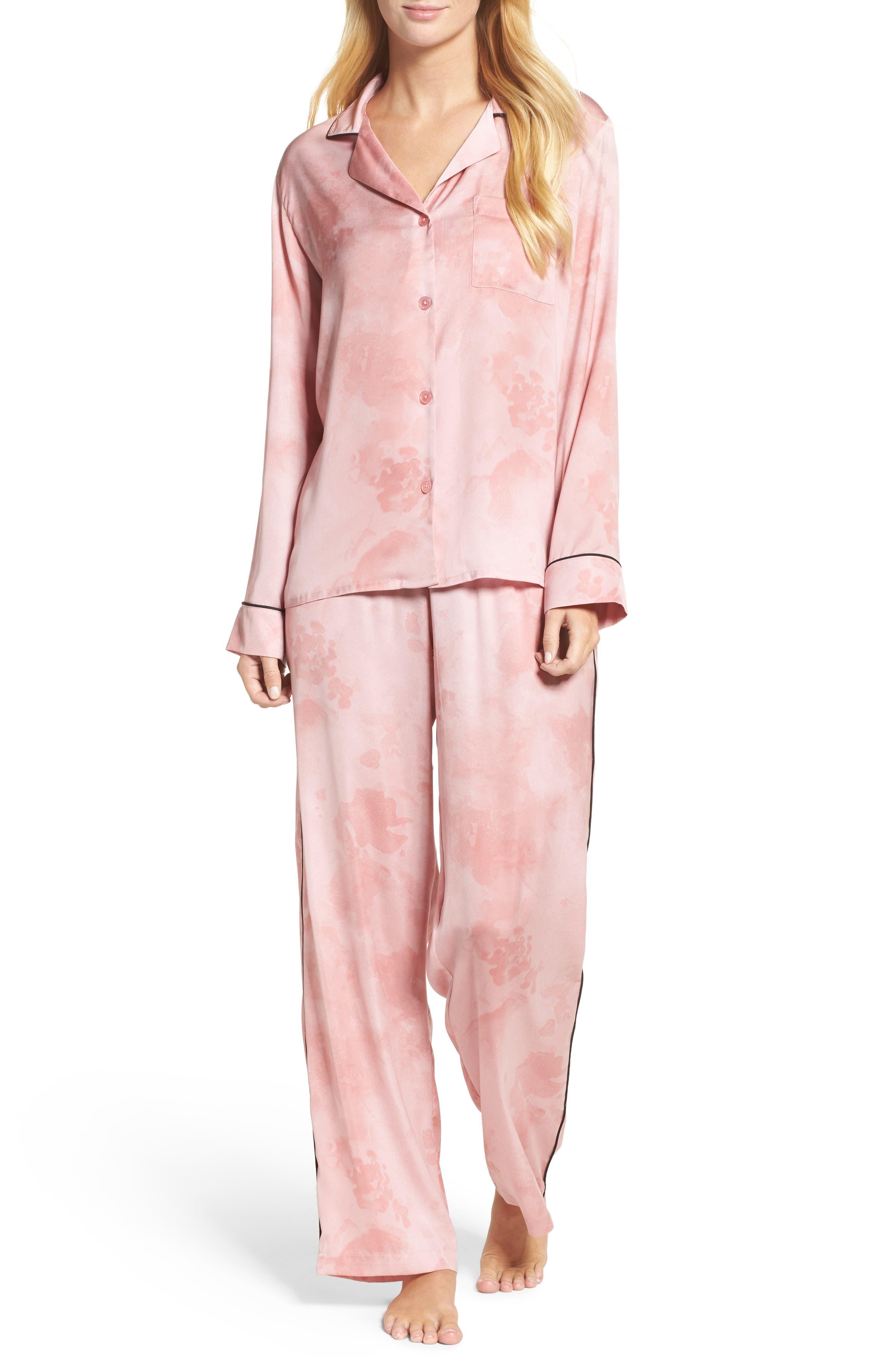 DKNY Washed Satin Pajamas