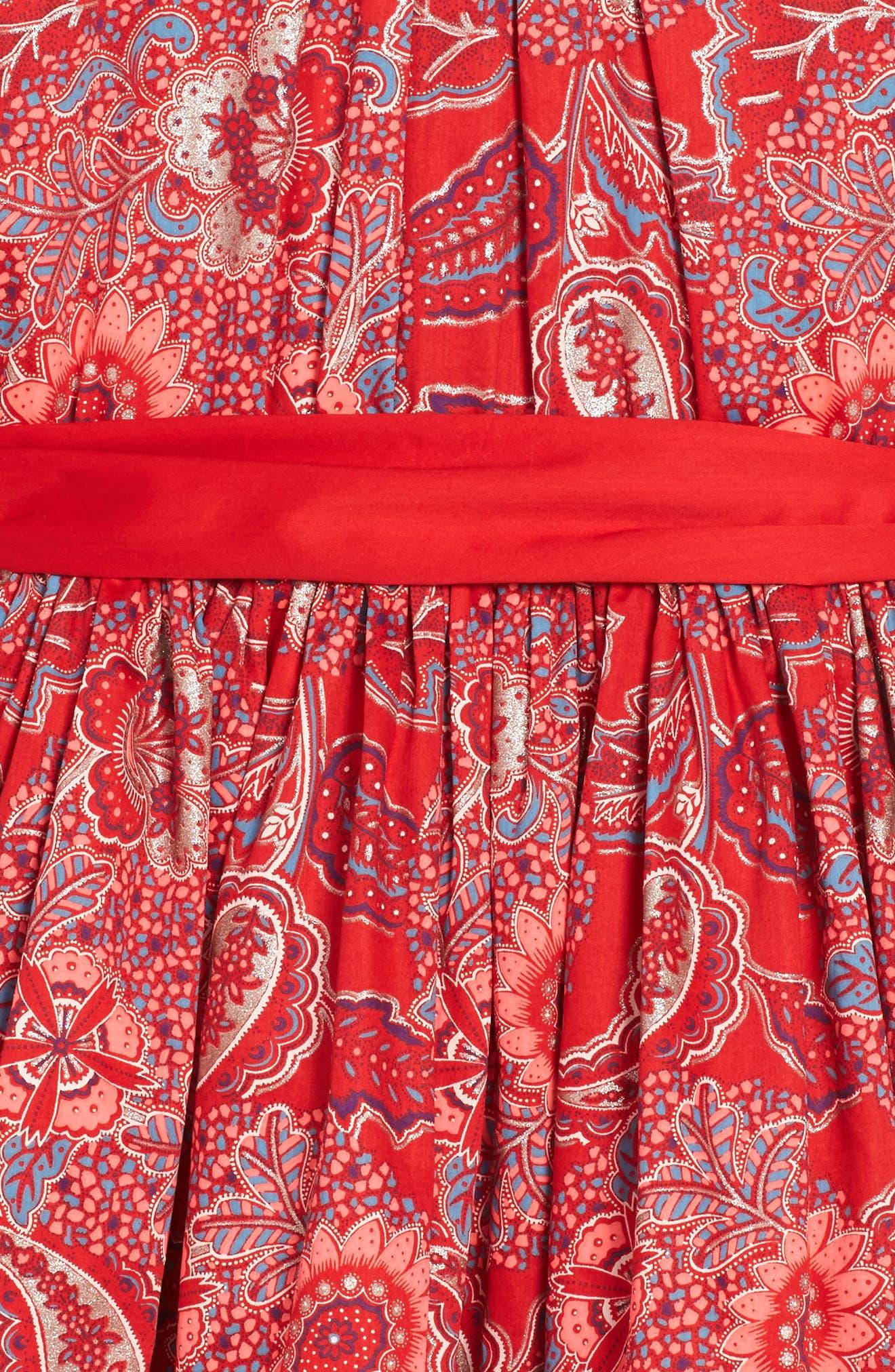 Alternate Image 3  - Tea Collection Adaira Sash Dress (Toddler Girls, Little Girls & Big Girls)