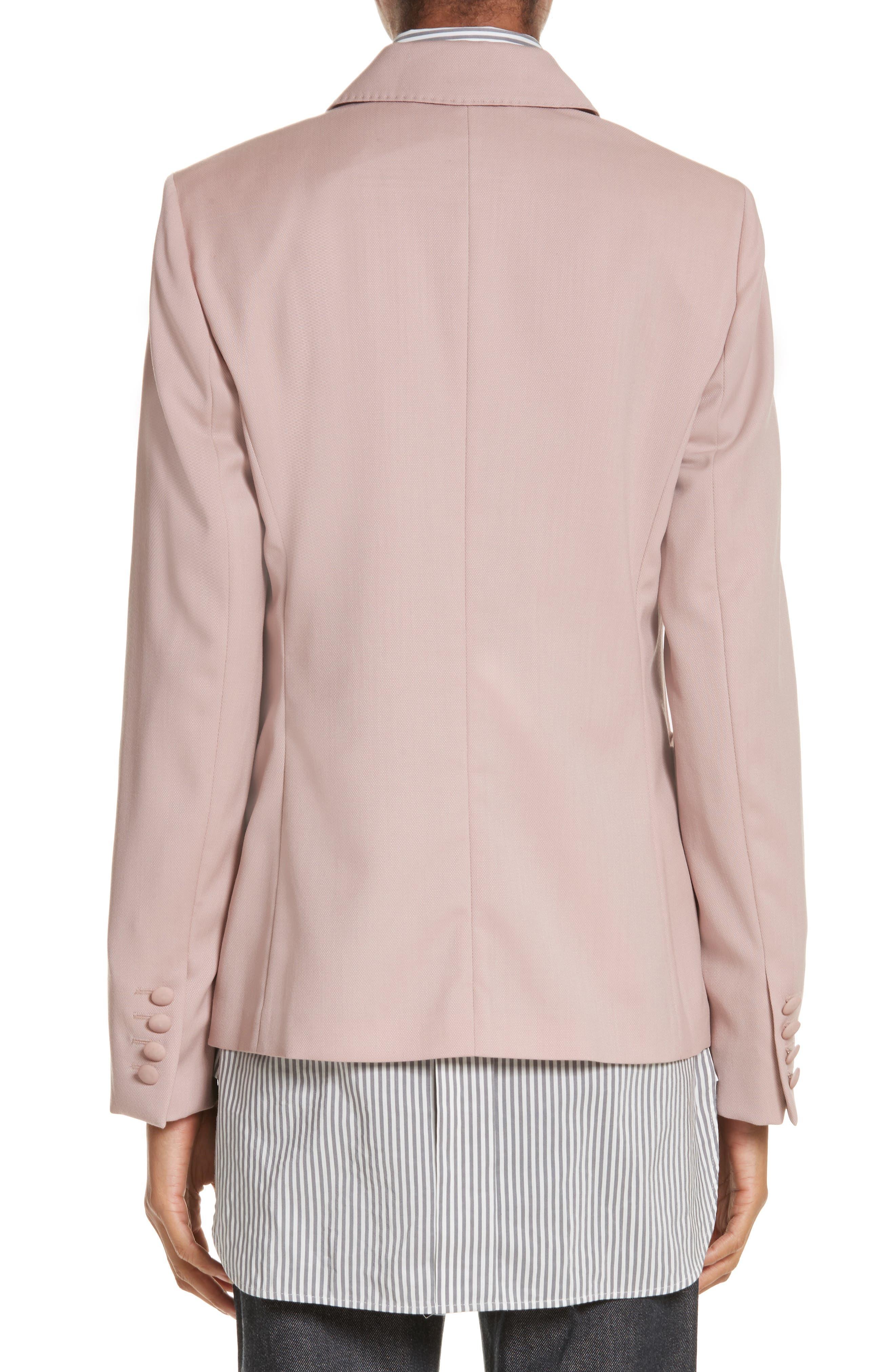 Panaro Wool Jacket,                             Alternate thumbnail 2, color,                             Blush