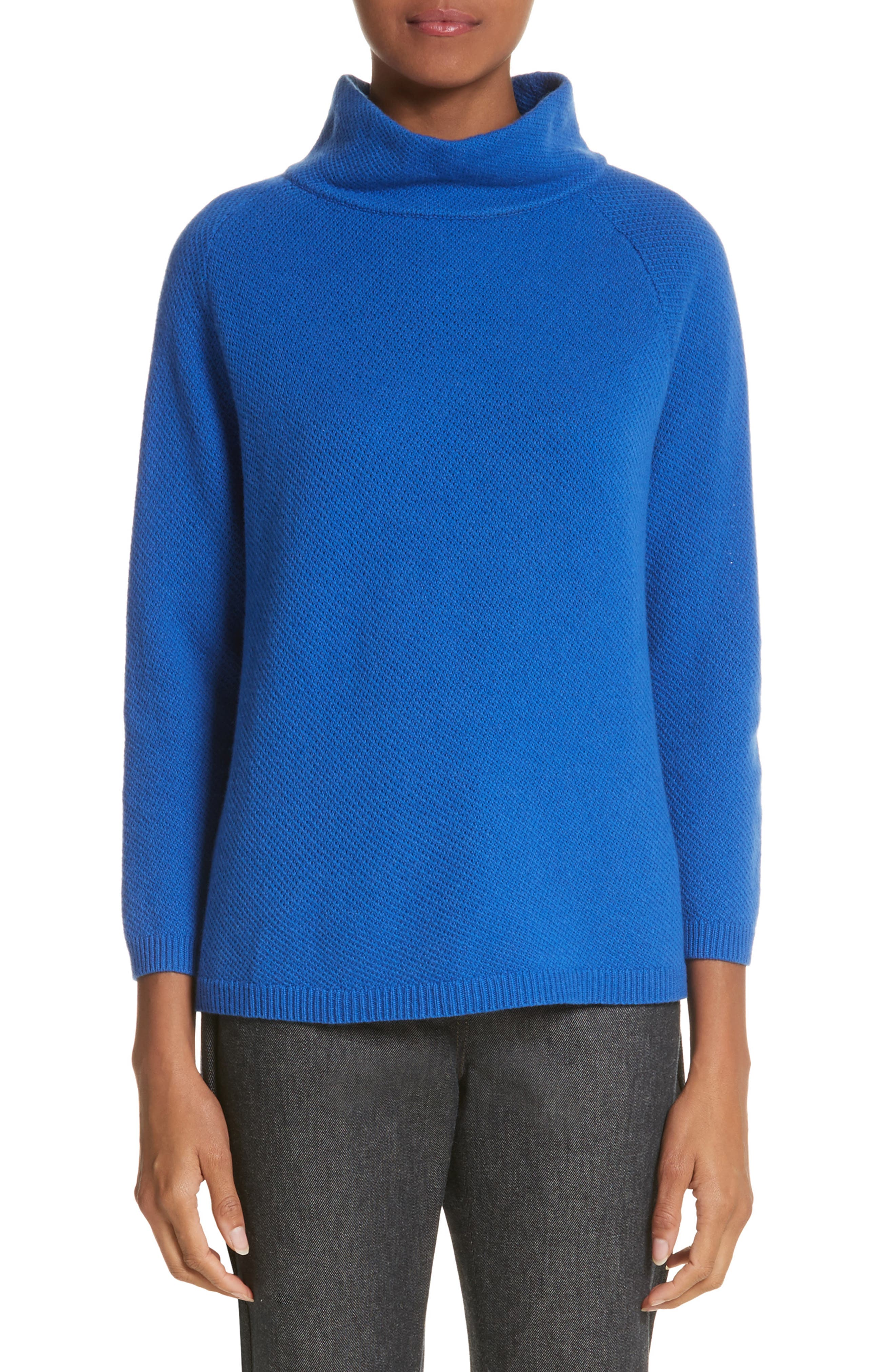 Osvaldo Cashmere Sweater,                         Main,                         color, Cornflower Blue