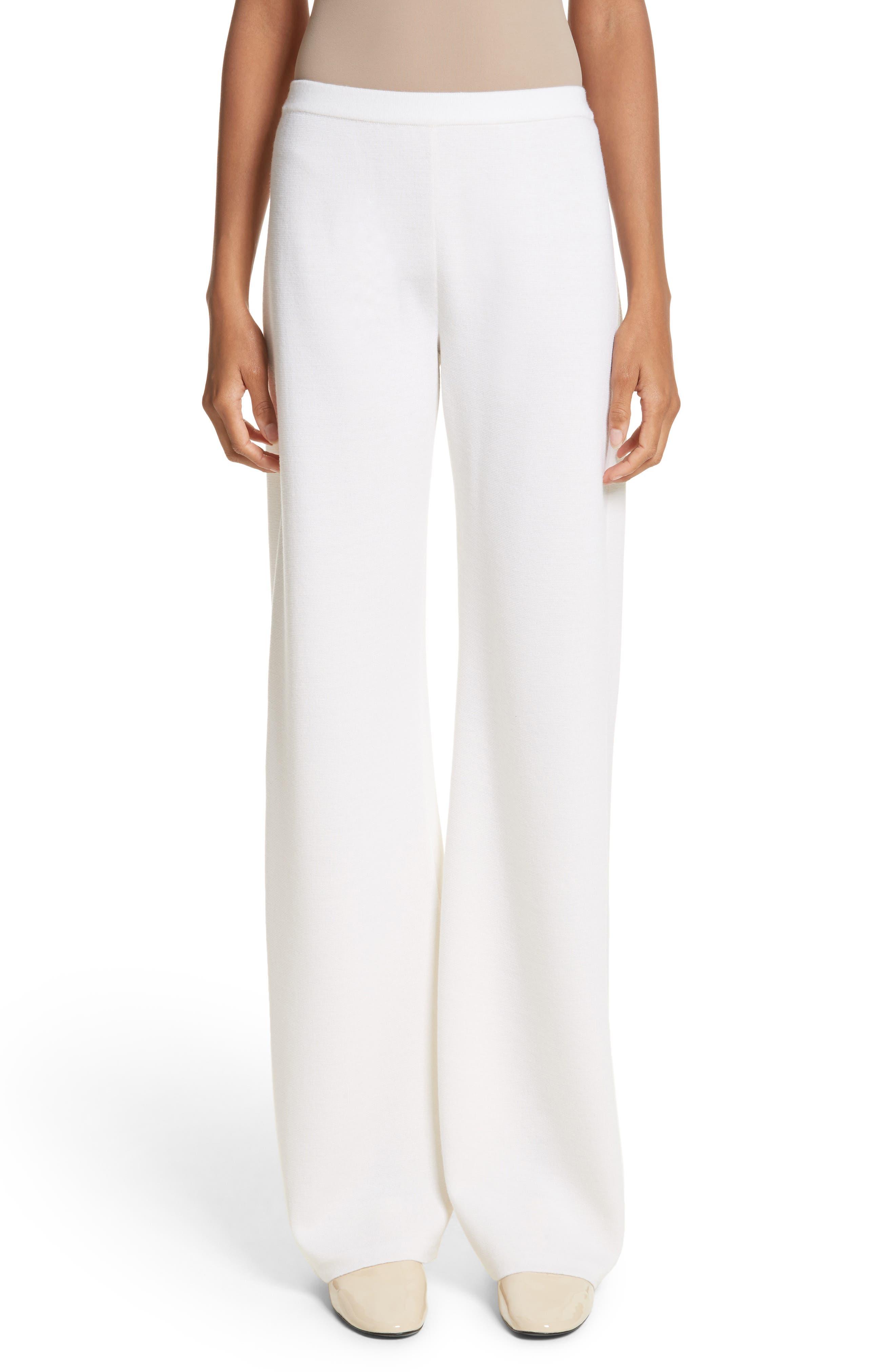 Brando Wool Wide Leg Pants,                         Main,                         color, Silk