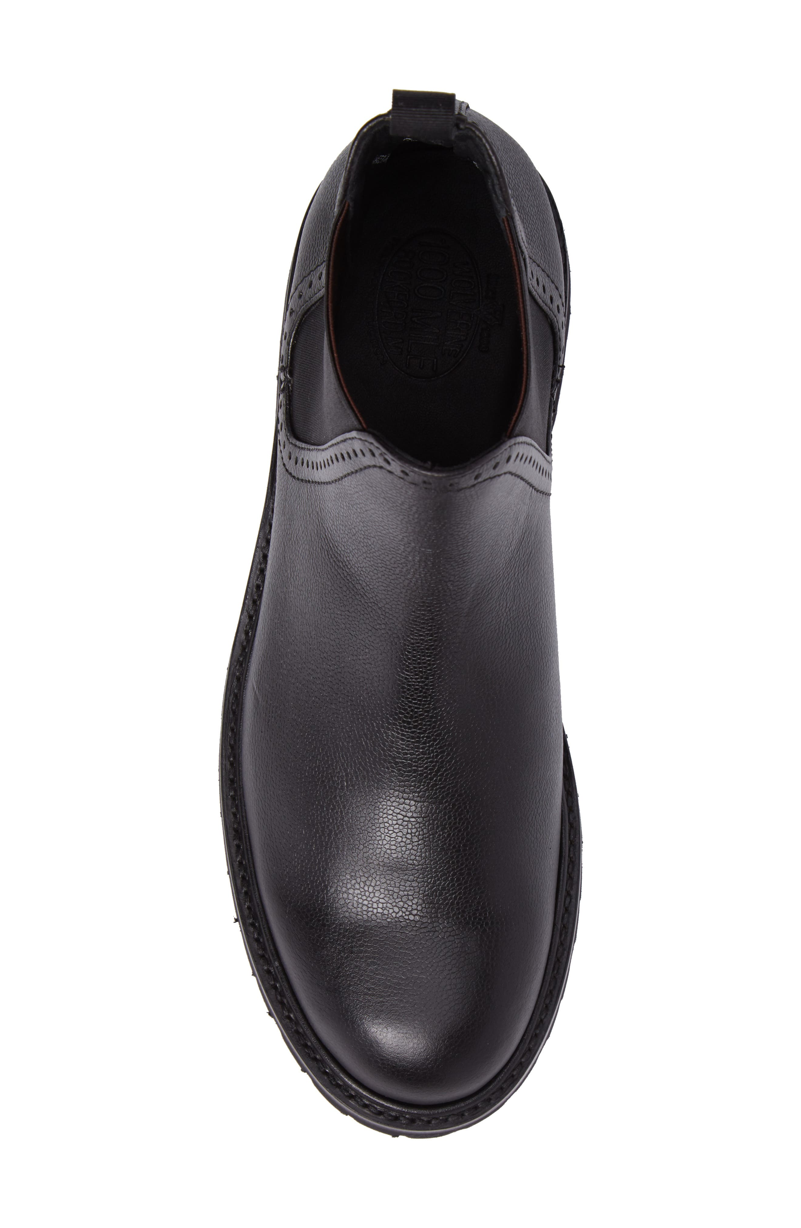 Cromwell Chelsea Boot,                             Alternate thumbnail 5, color,                             Black