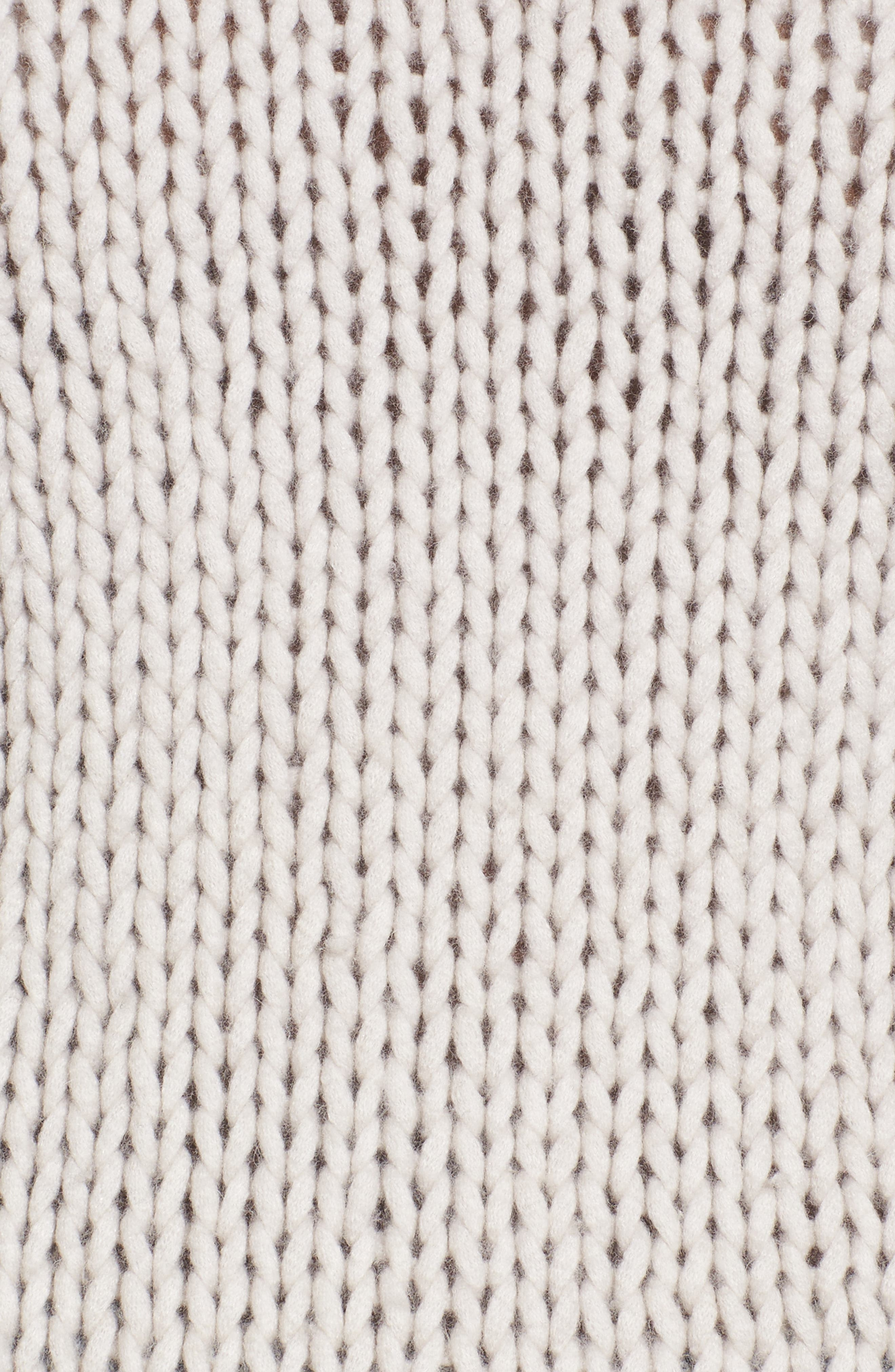 Hawken Turtleneck Sweater,                             Alternate thumbnail 5, color,                             Pearl