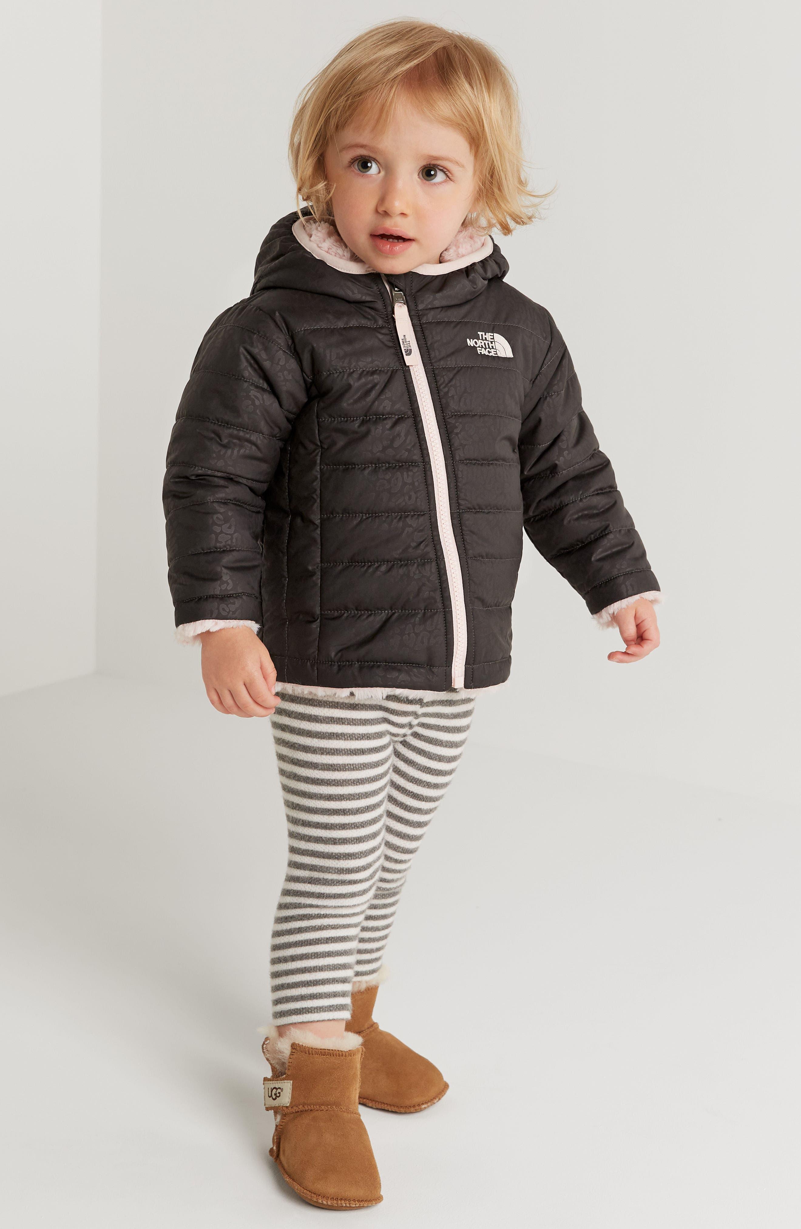 Alternate Image 3  - Nordstrom Baby Fleece Tunic & Leggings Set (Baby Girls)