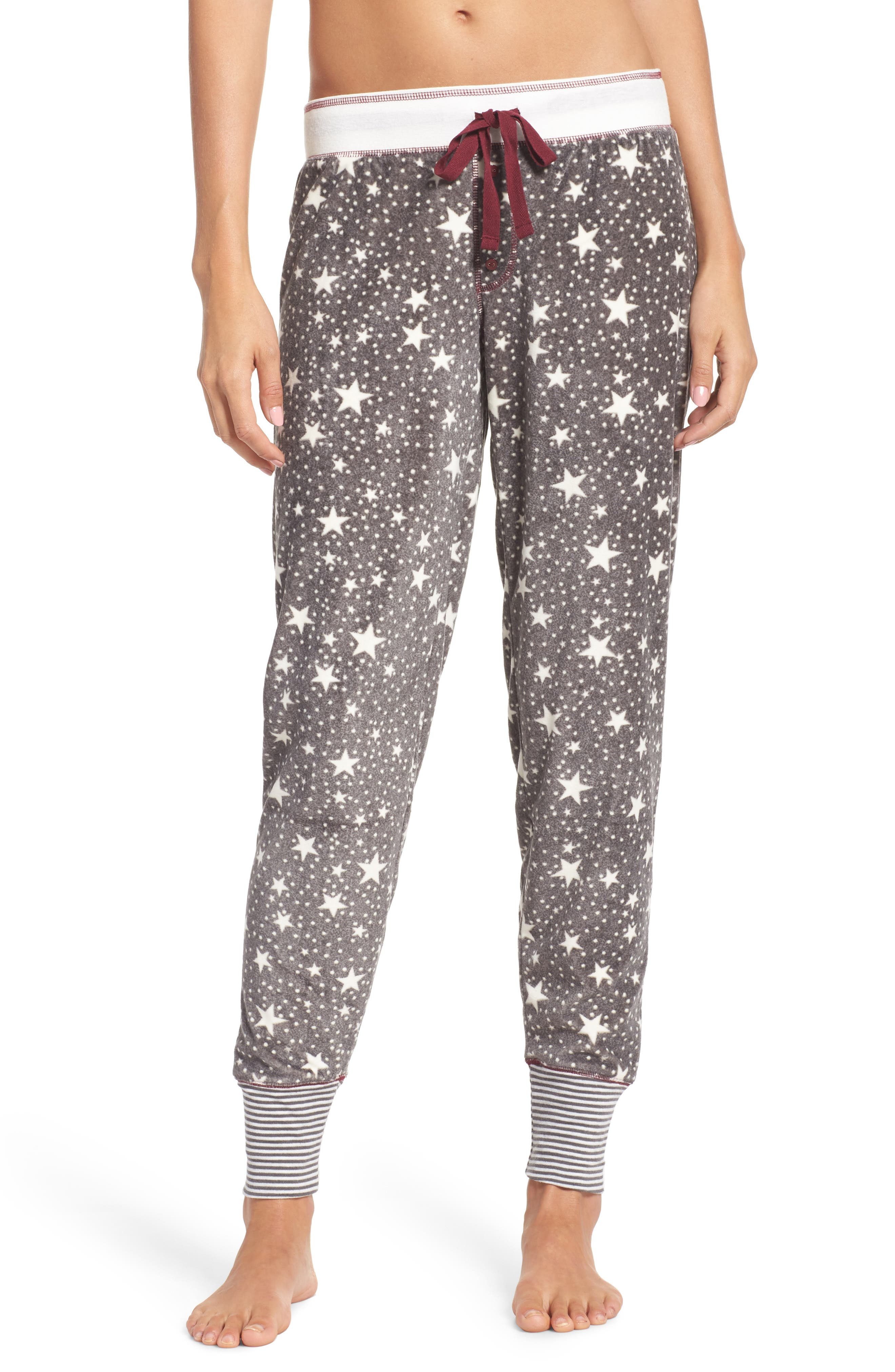 PJ Salvage Print Velour Pants