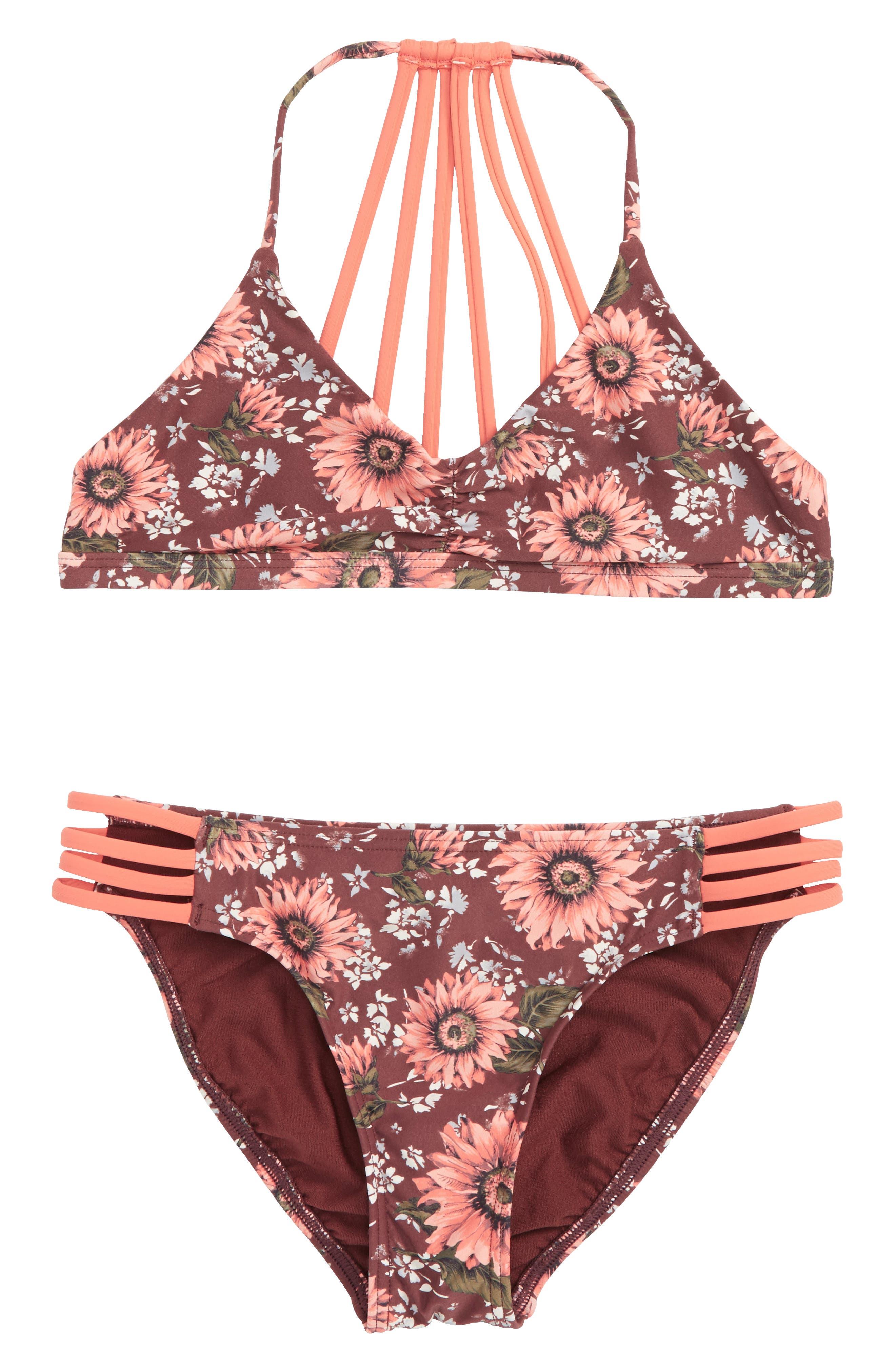 Main Image - O'Neill Viera Two-Piece Swimsuit (Big Girls)