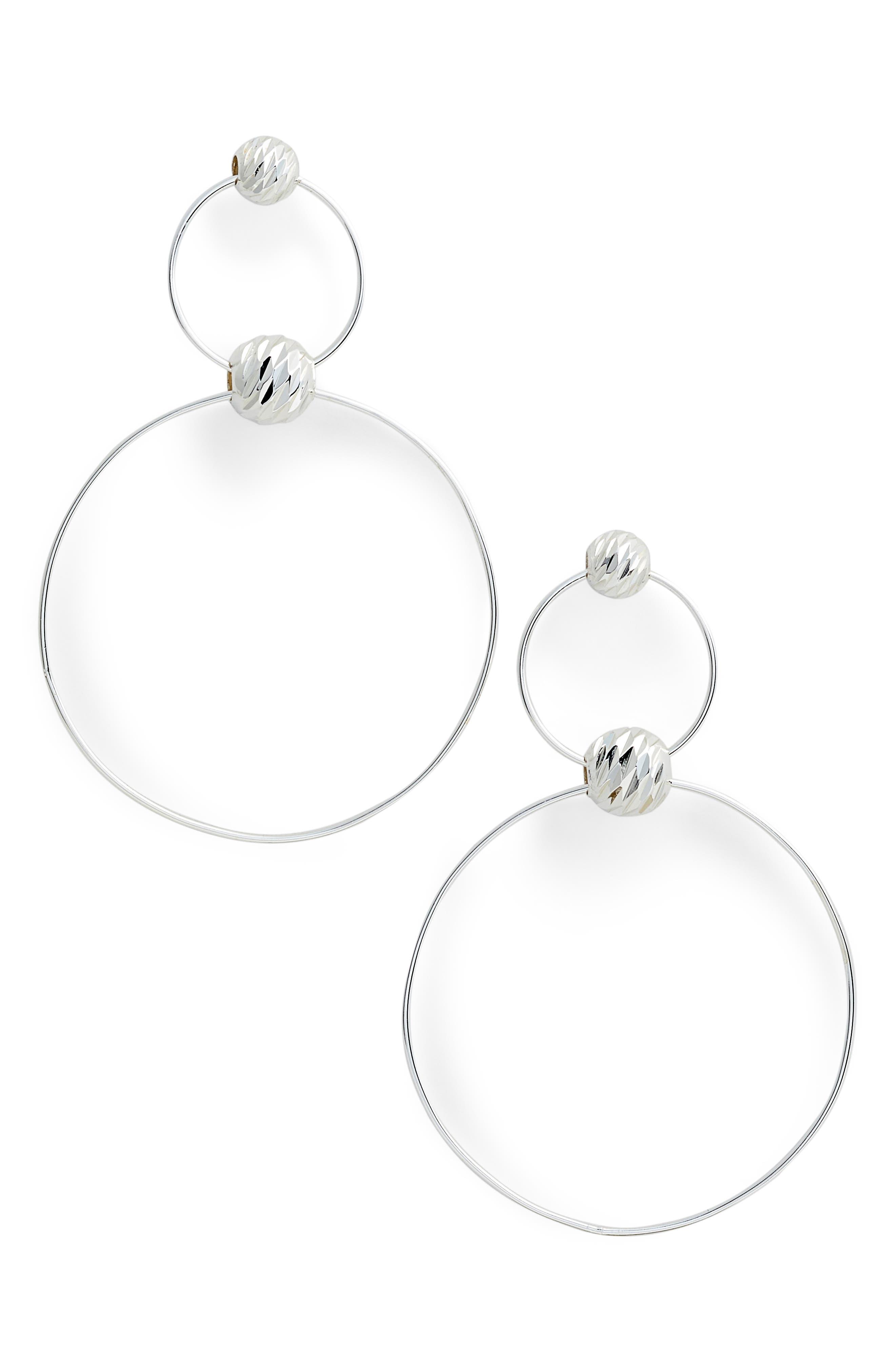 Alternate Image 1 Selected - Argento Vivo Double Drop Earrings
