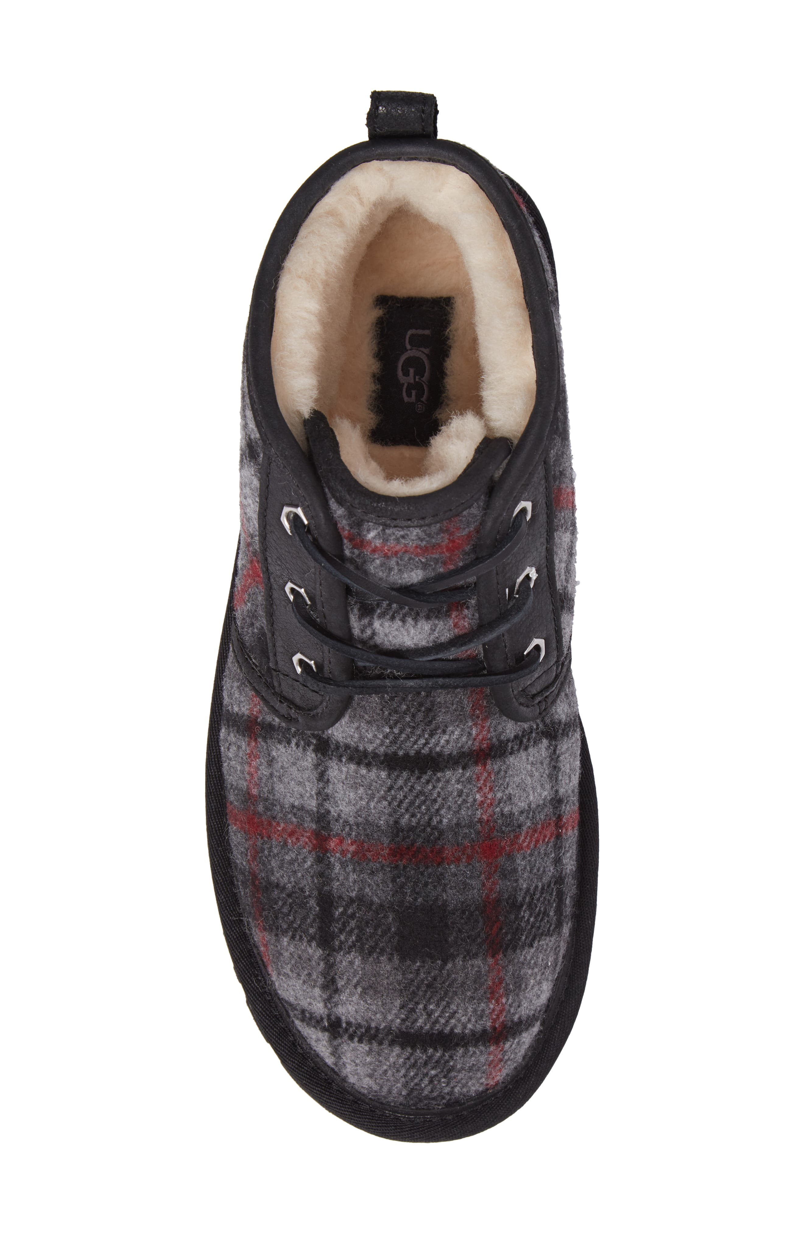Neumel Chukka Boot,                             Alternate thumbnail 5, color,                             Tartan Plaid