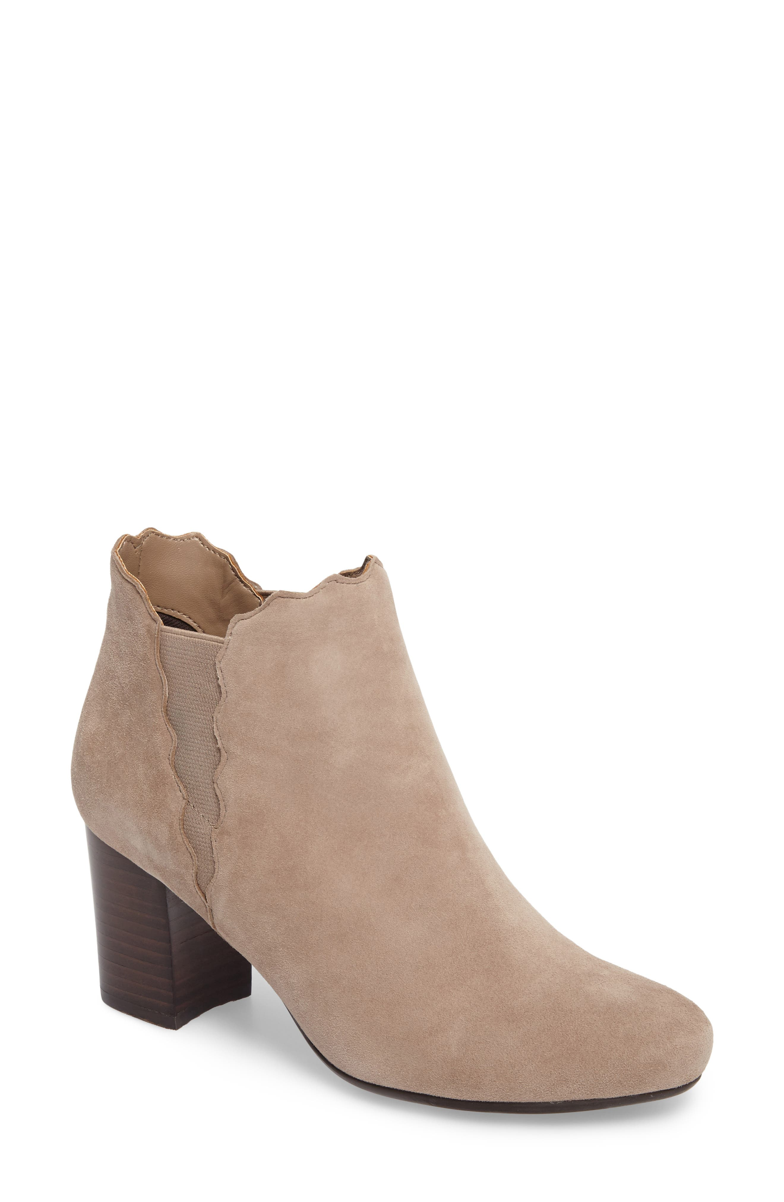 Alternate Image 1 Selected - VANELi Jabot Bootie (Women)