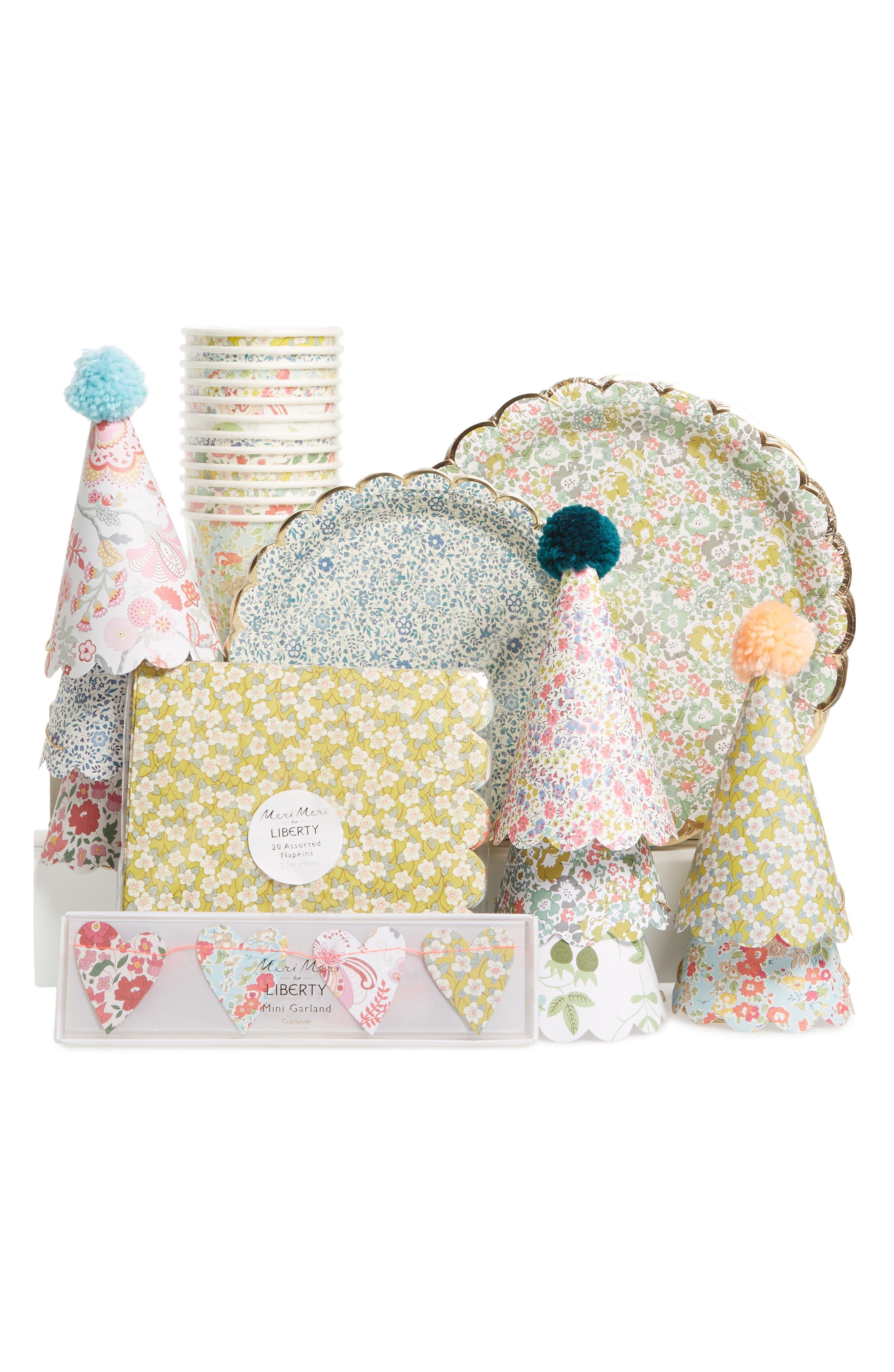 x Liberty Decoration Party Bundle,                             Main thumbnail 1, color,                             White Multi