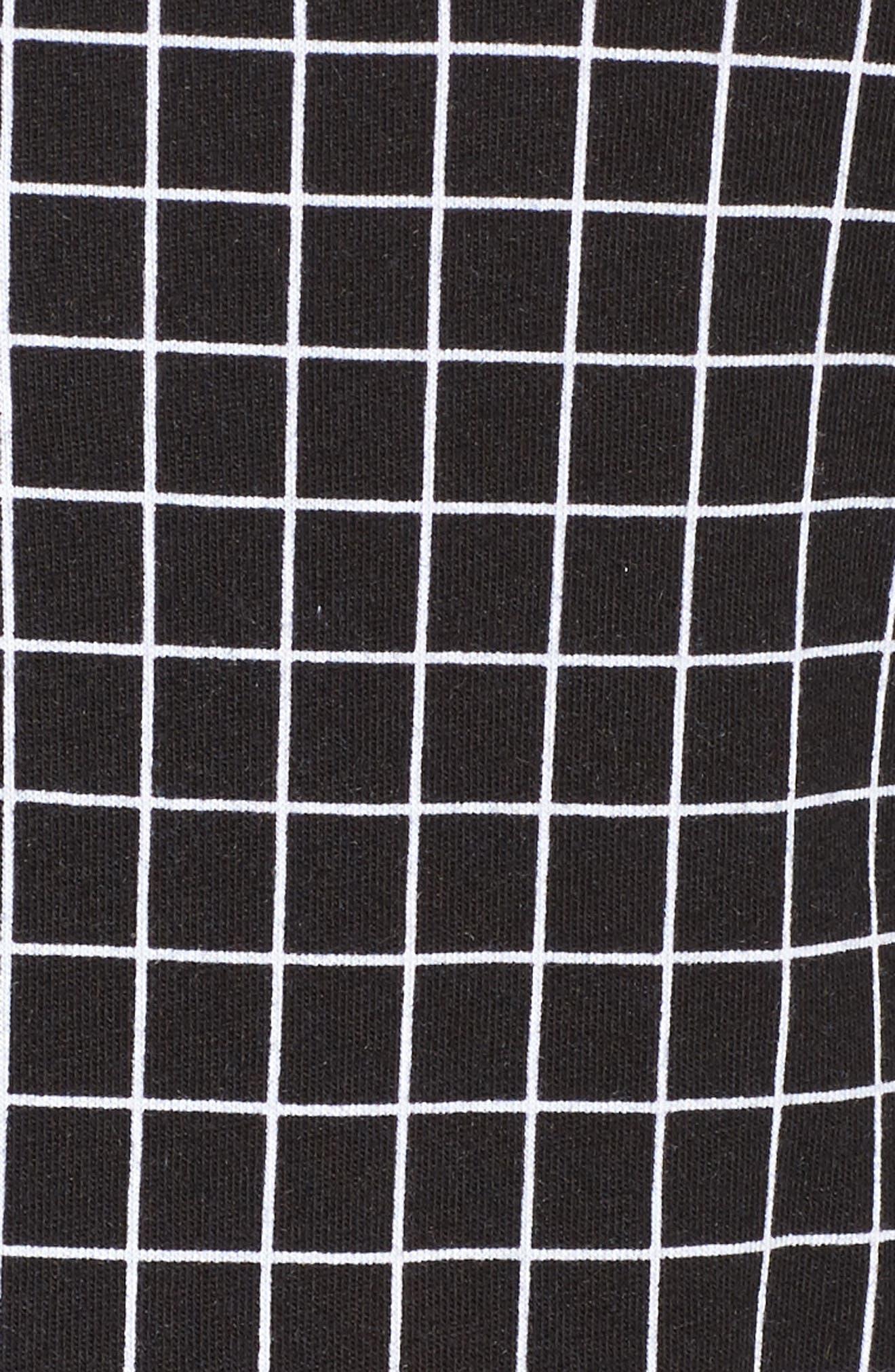 Alternate Image 5  - DKNY Jersey Pajamas (Plus Size)