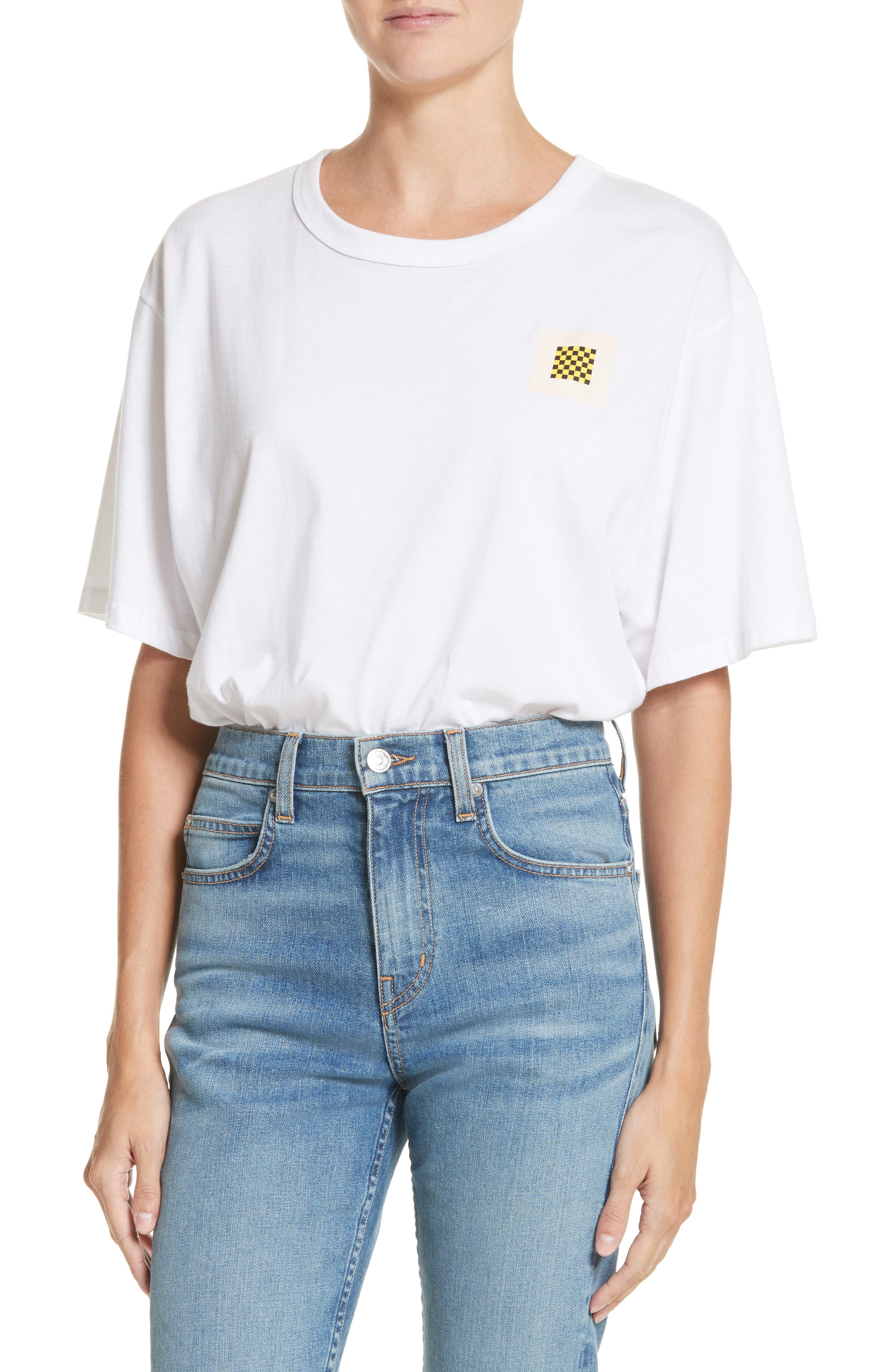 PSWL Graphic Jersey Tee,                         Main,                         color, White