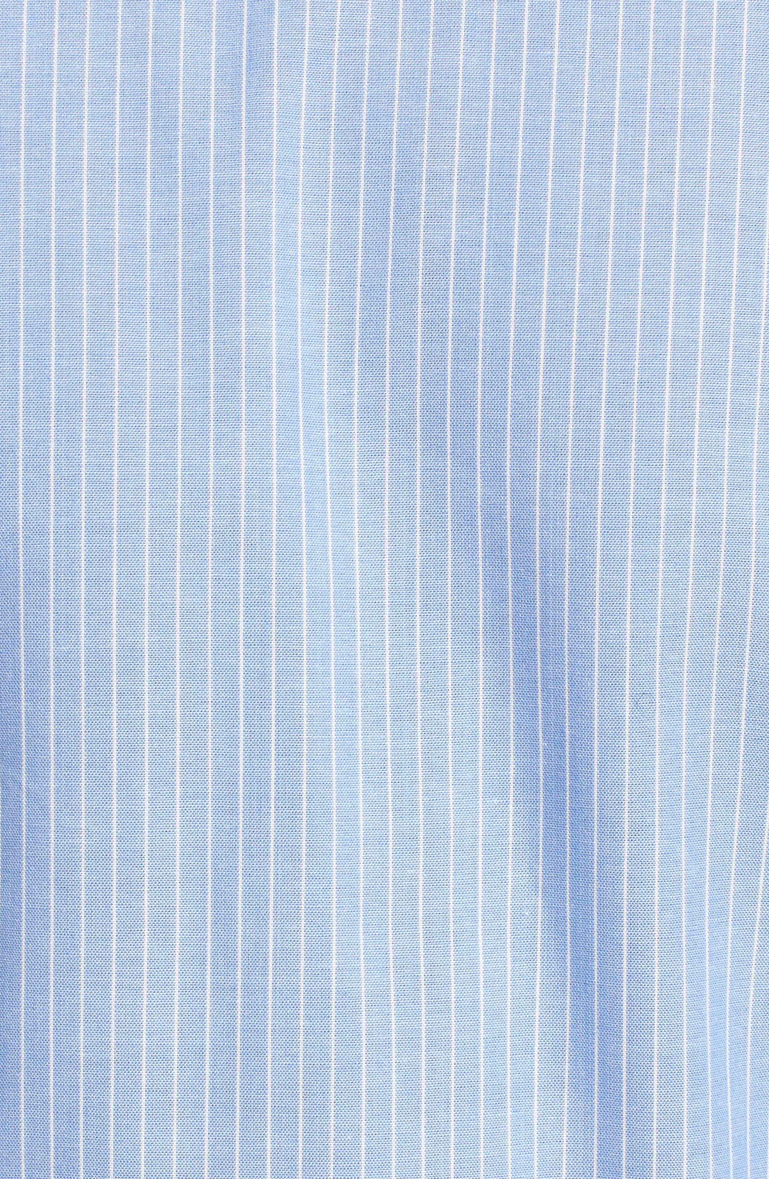 Alternate Image 5  - Chloe & Katie Stripe Peplum Shirt