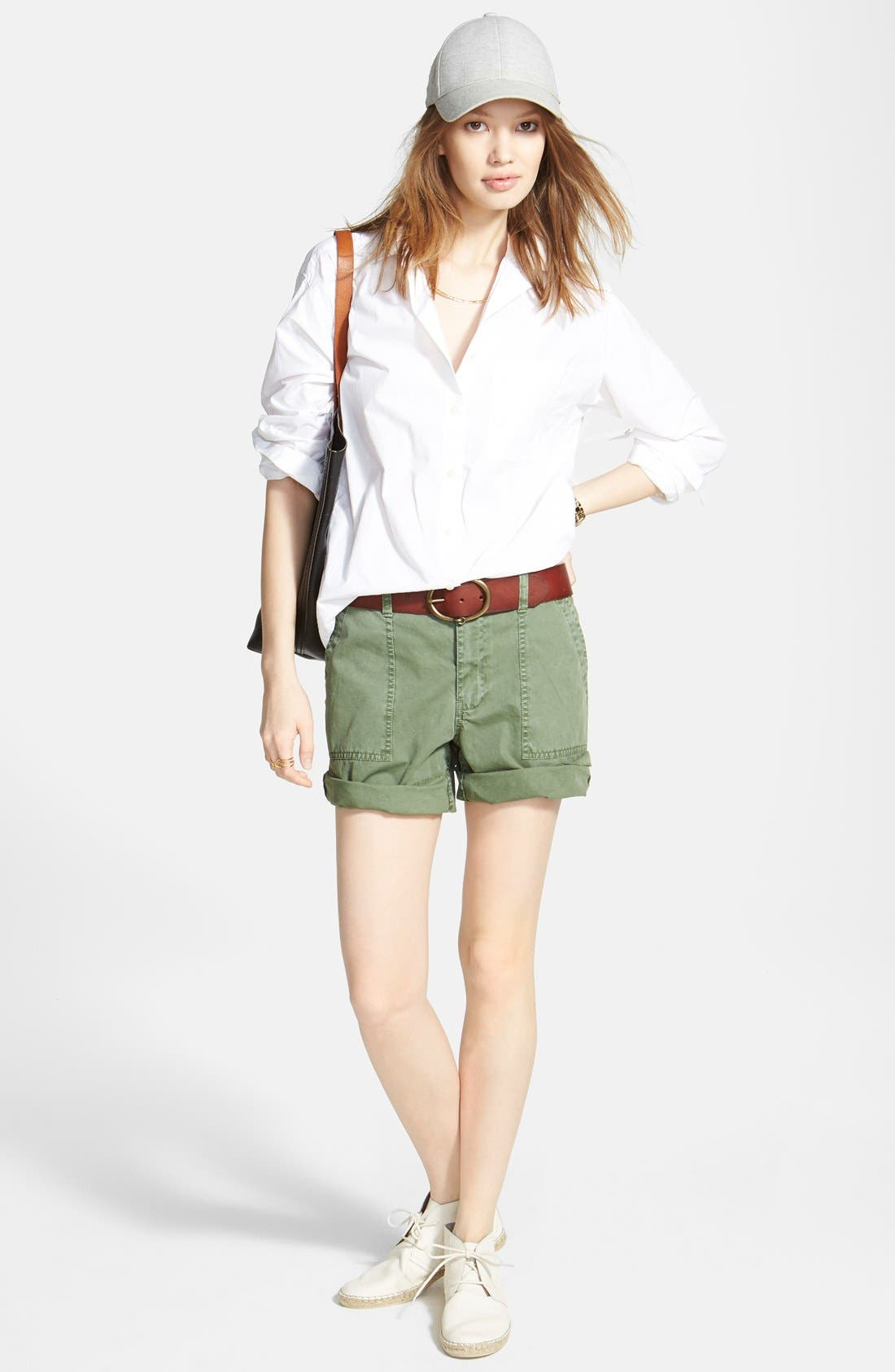 Alternate Image 4  - Madewell Oversize Button Front Shirt