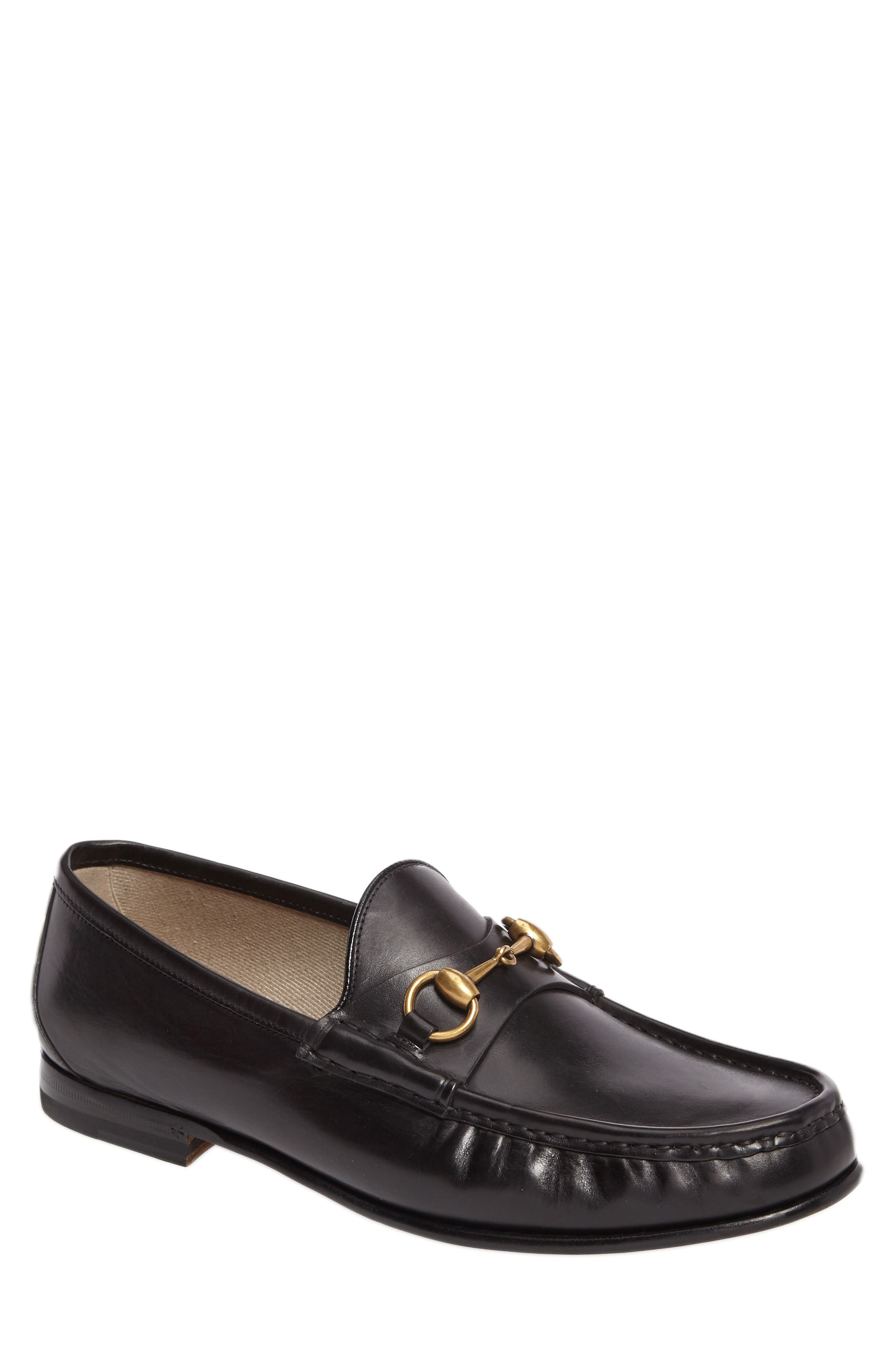 'Roos' Bit Loafer,                             Main thumbnail 1, color,                             Nero