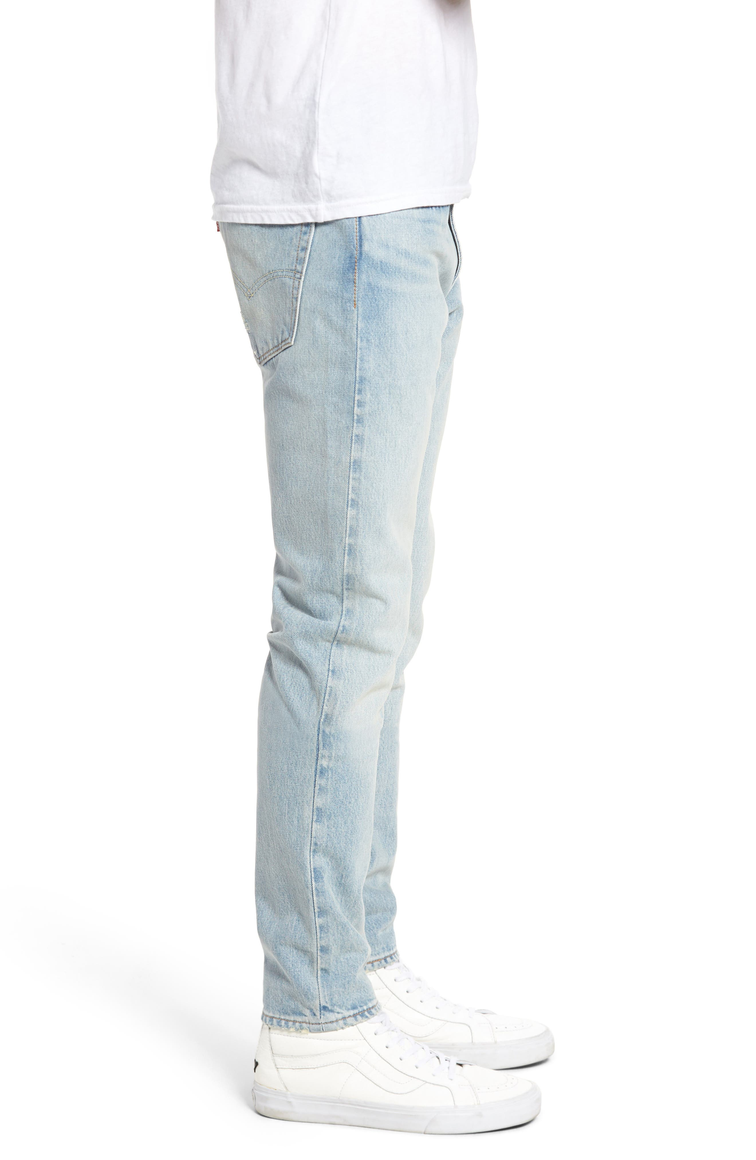 Alternate Image 3  - Levi's® 512™ Skinny Fit Crop Jeans (Medium Blue Surf Ave)