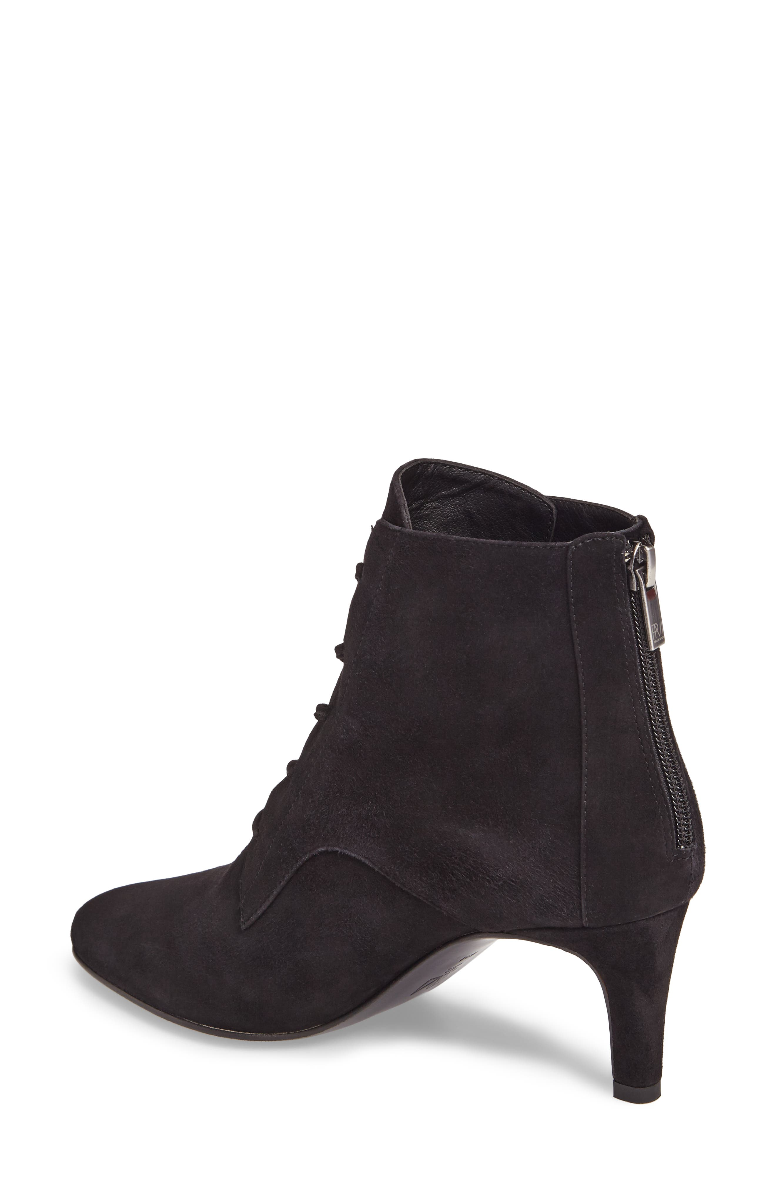 Yelen Bootie,                             Alternate thumbnail 2, color,                             Black Leather