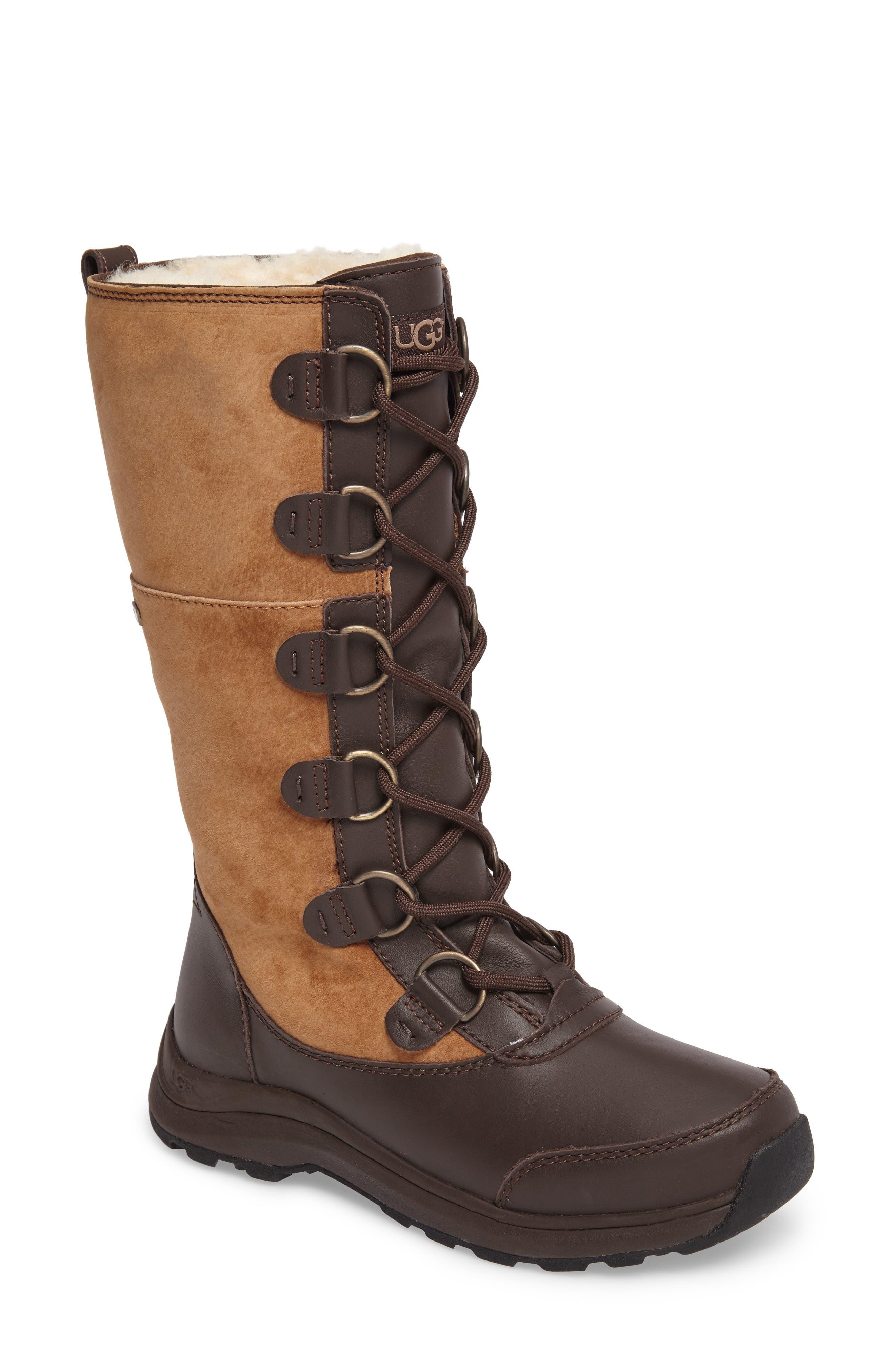 Alternate Image 1 Selected - UGG® Atlason Waterproof Boot (Women)