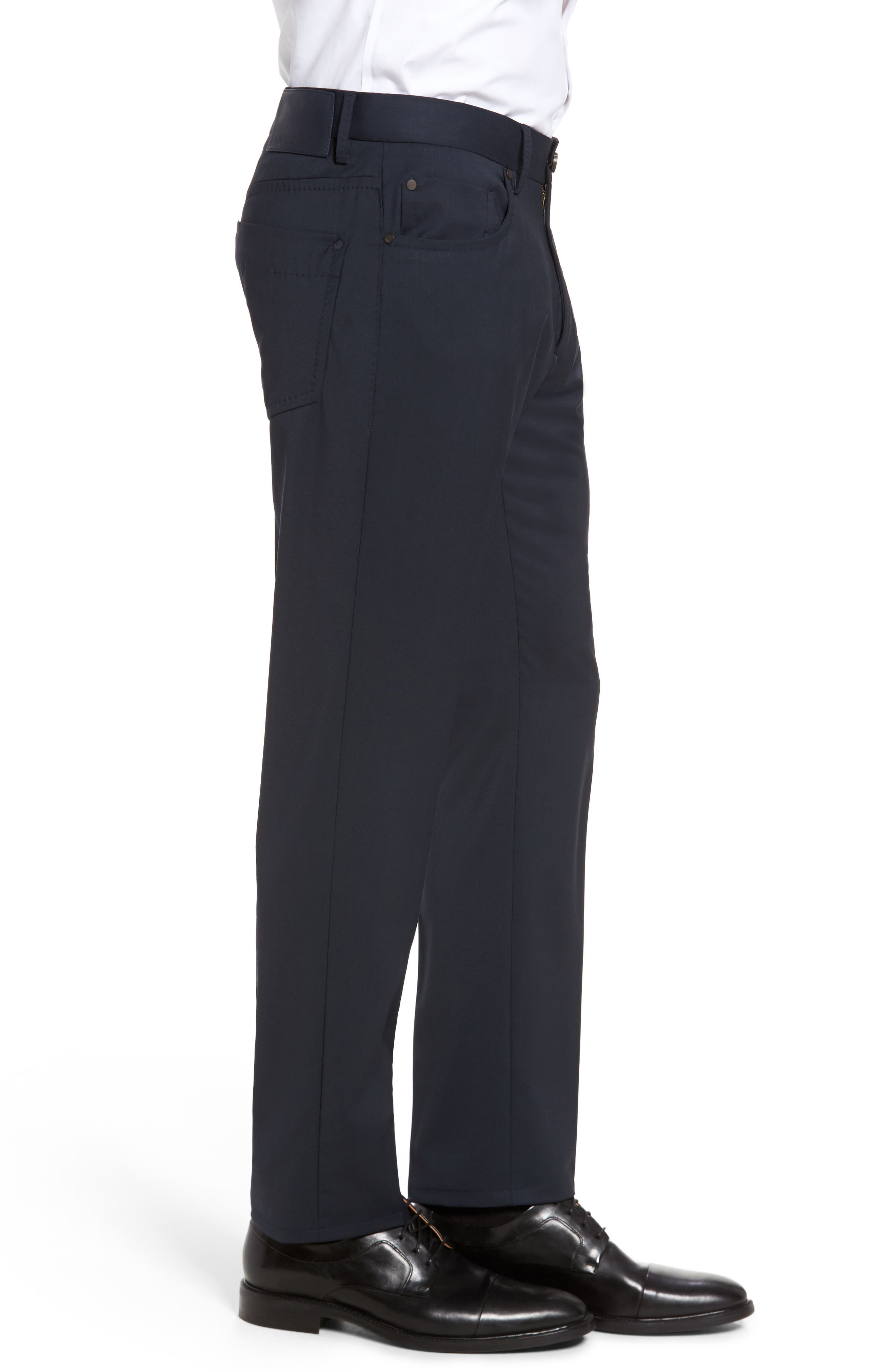 Alternate Image 3  - Incotex Five-Pocket Stretch Wool Pants