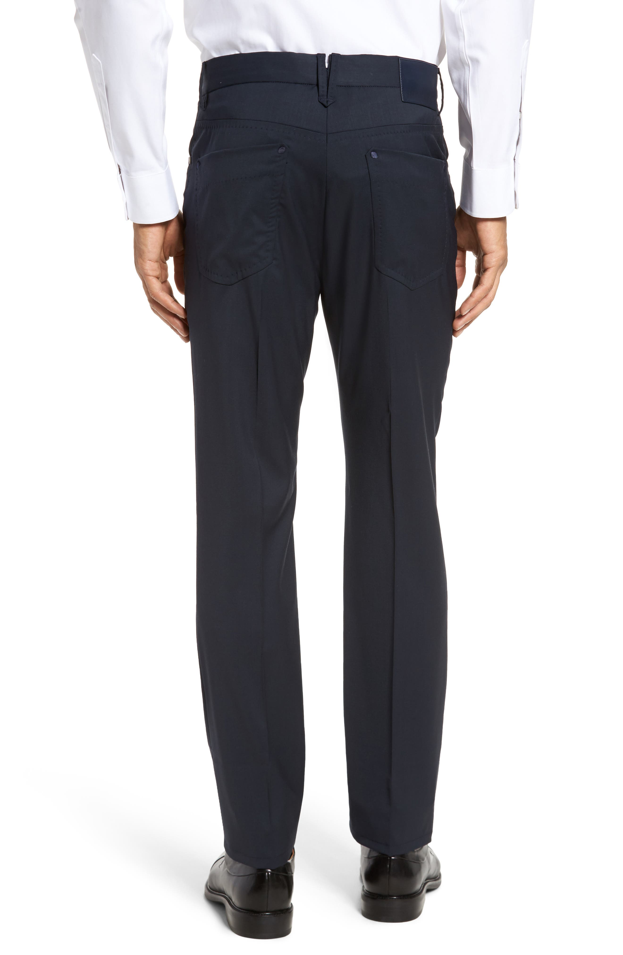 Alternate Image 2  - Incotex Five-Pocket Stretch Wool Pants