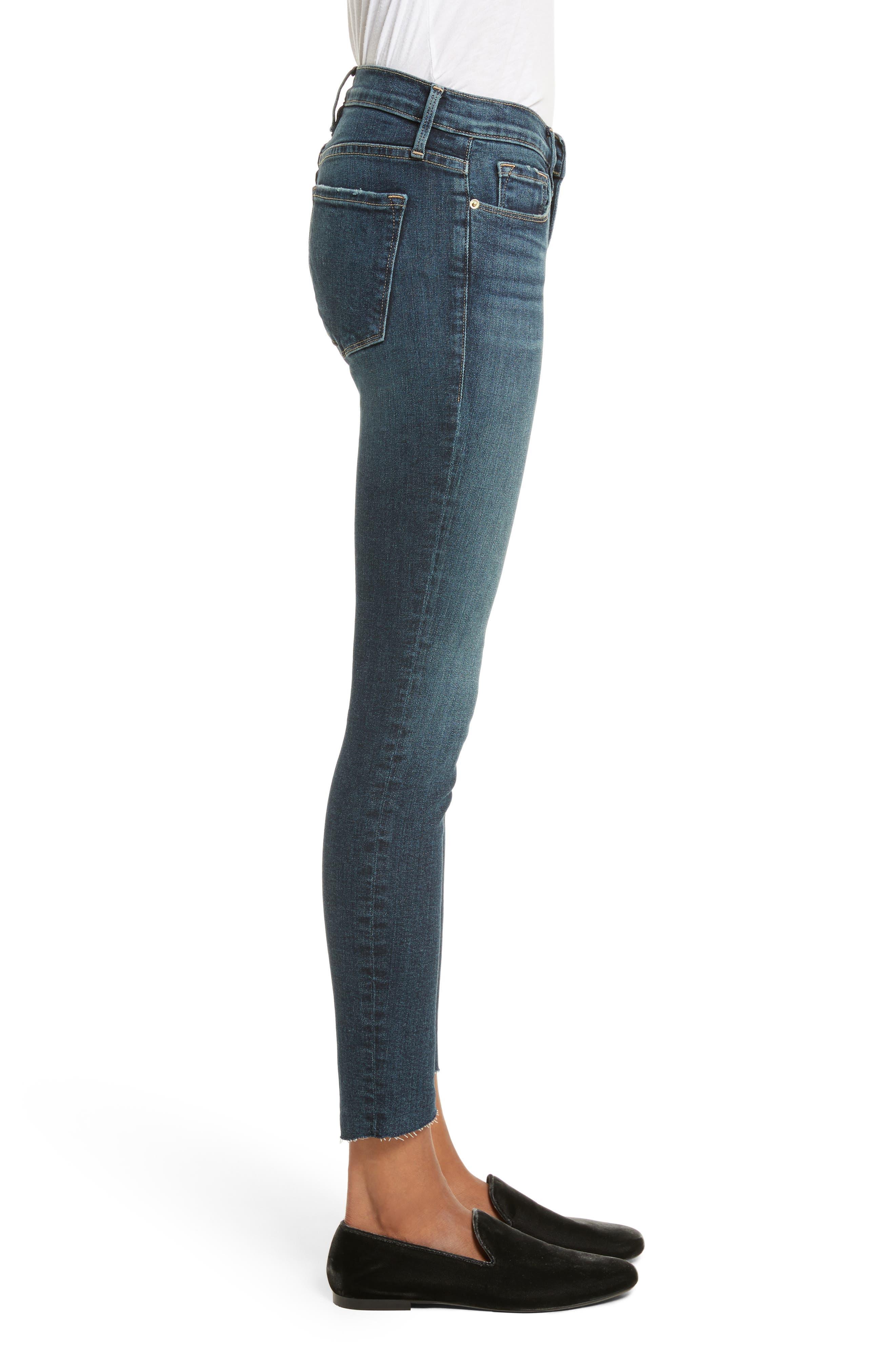 Alternate Image 3  - FRAME Le Skinny de Jeanne Skinny Jeans (Astell)