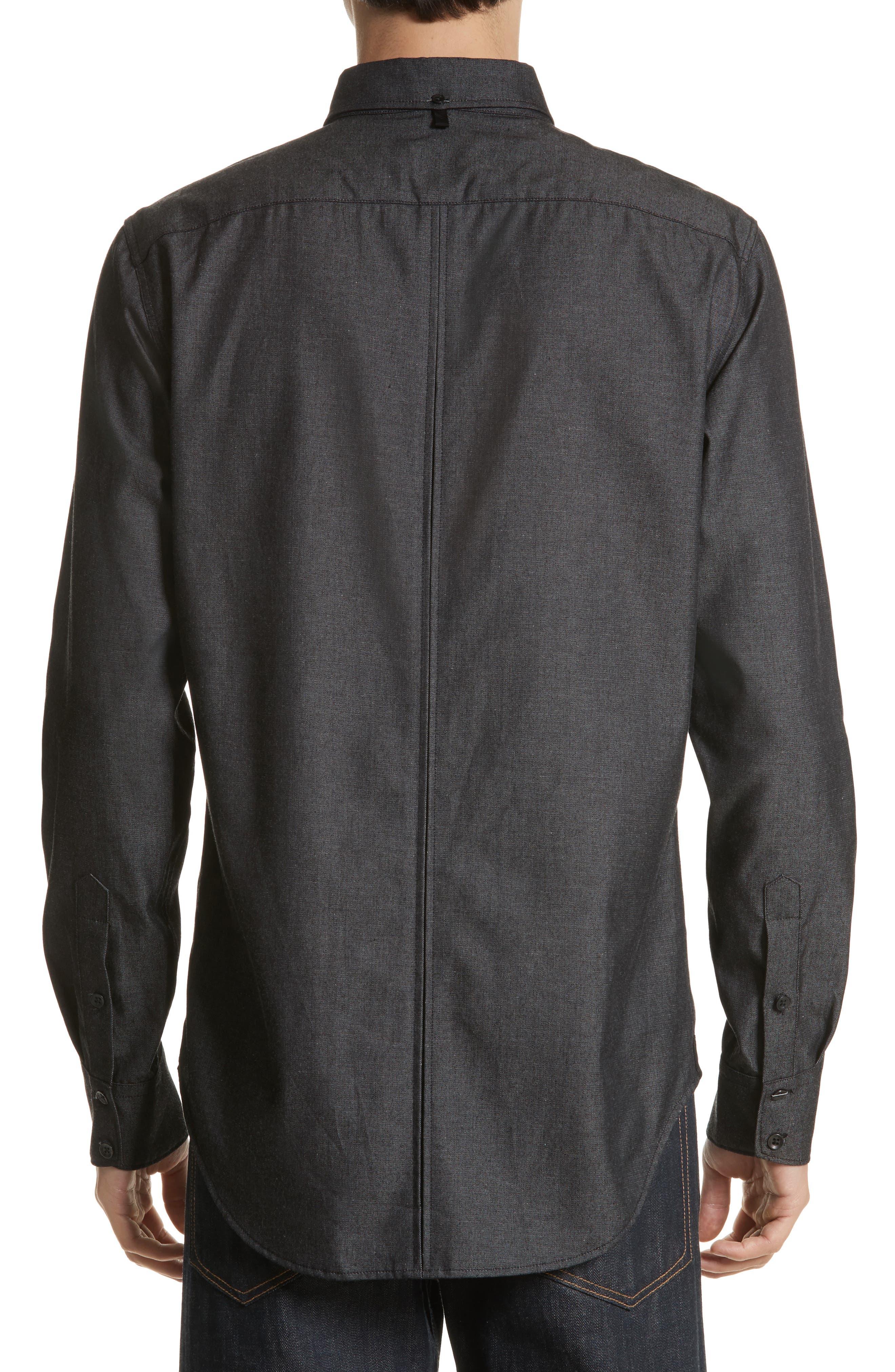 Fit 2 Tomlin Shirt,                             Alternate thumbnail 3, color,                             Black