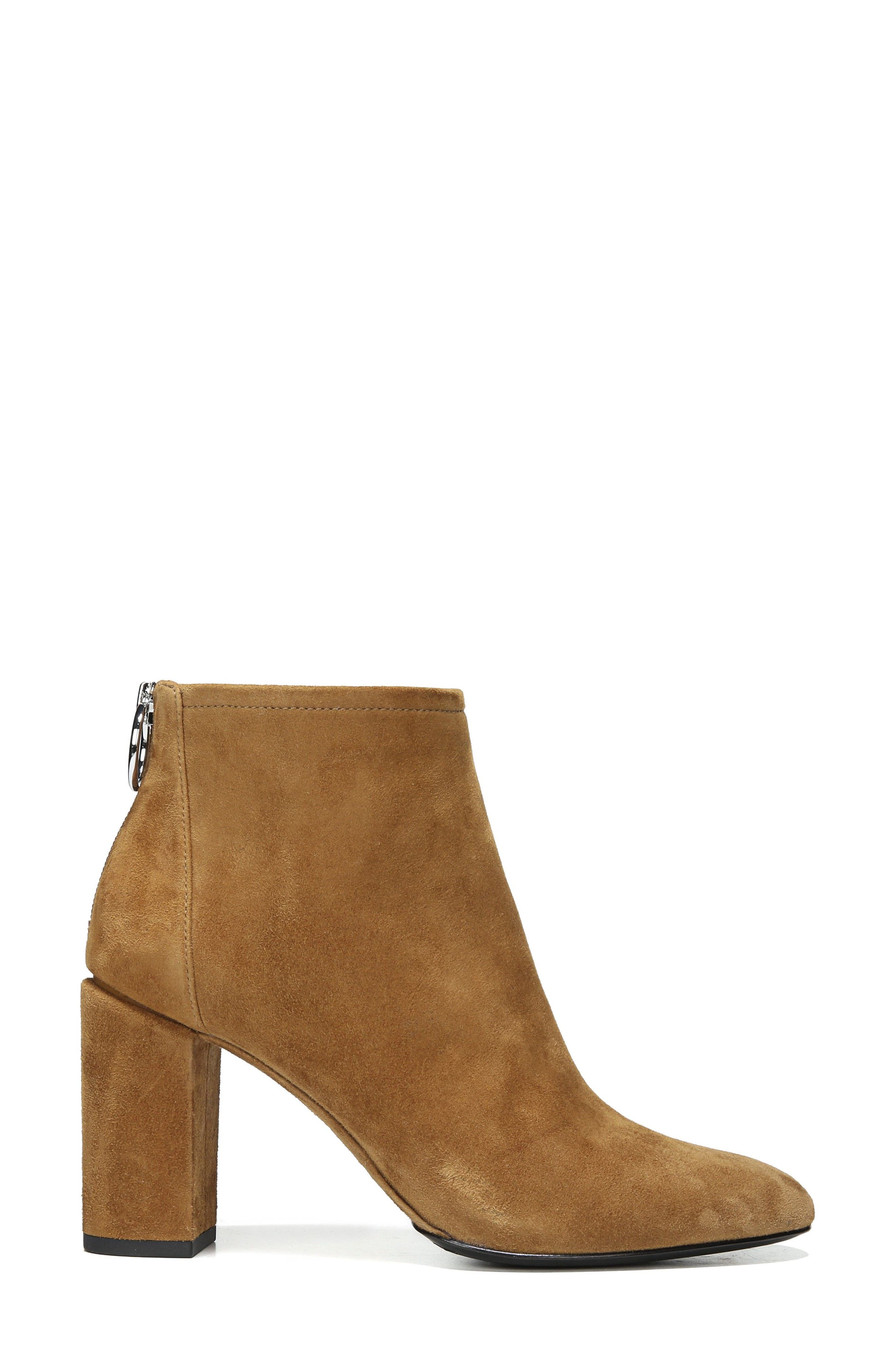 Nadia Bootie,                             Alternate thumbnail 3, color,                             Cuoio Suede