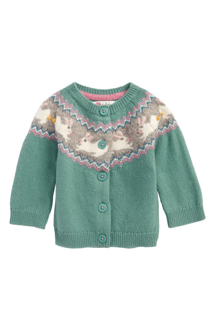 Mini boden fair isle cardigan baby girls toddler girls for Shop mini boden