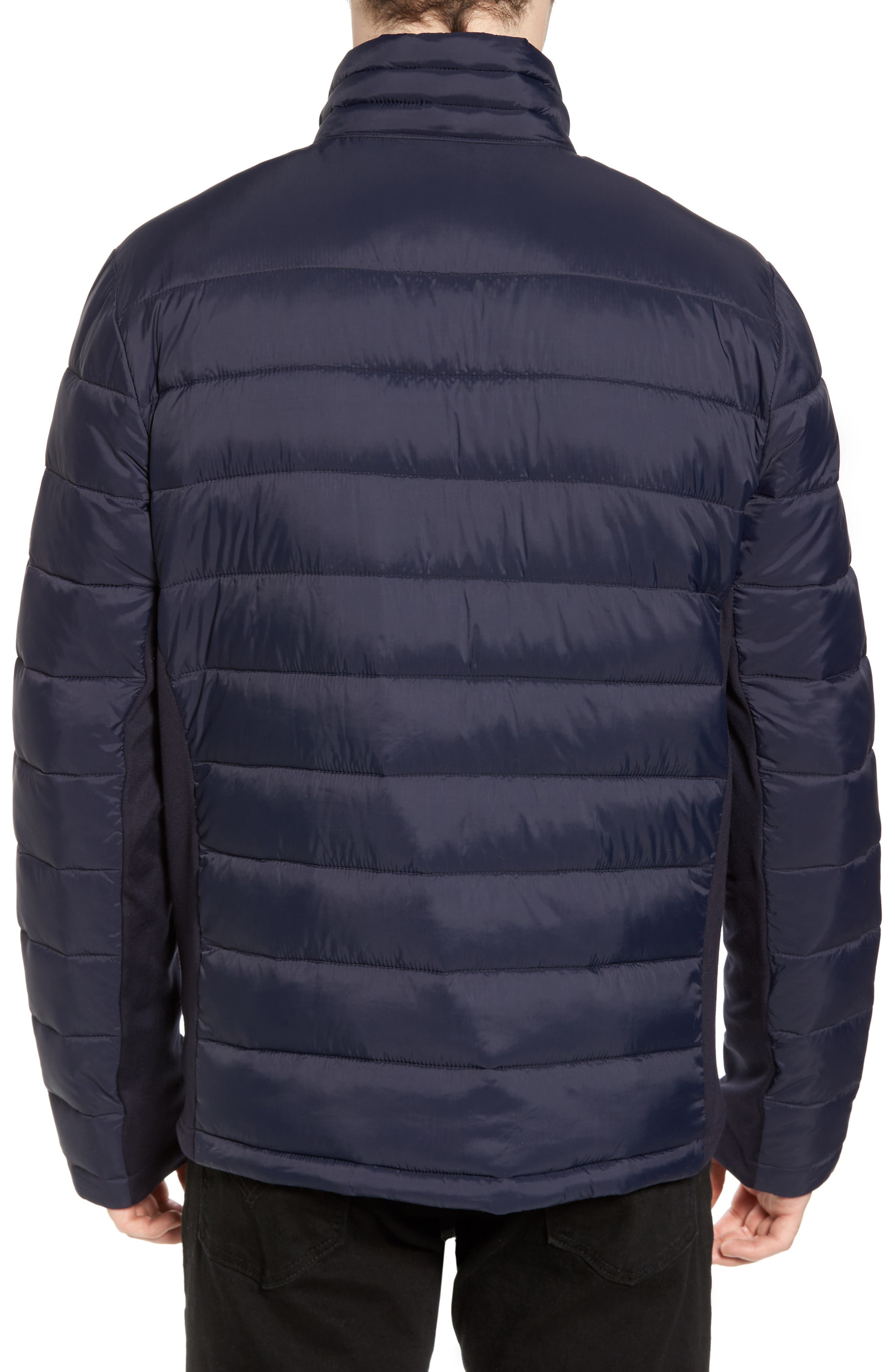 Alternate Image 2  - Black Rivet Water Resistant Packable Puffer Jacket
